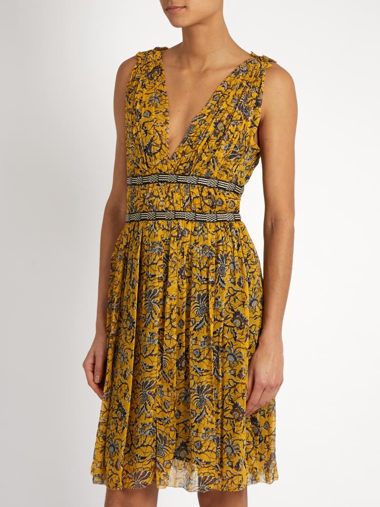 Isabel Marant Balzan floral-print silk-chiffon dress