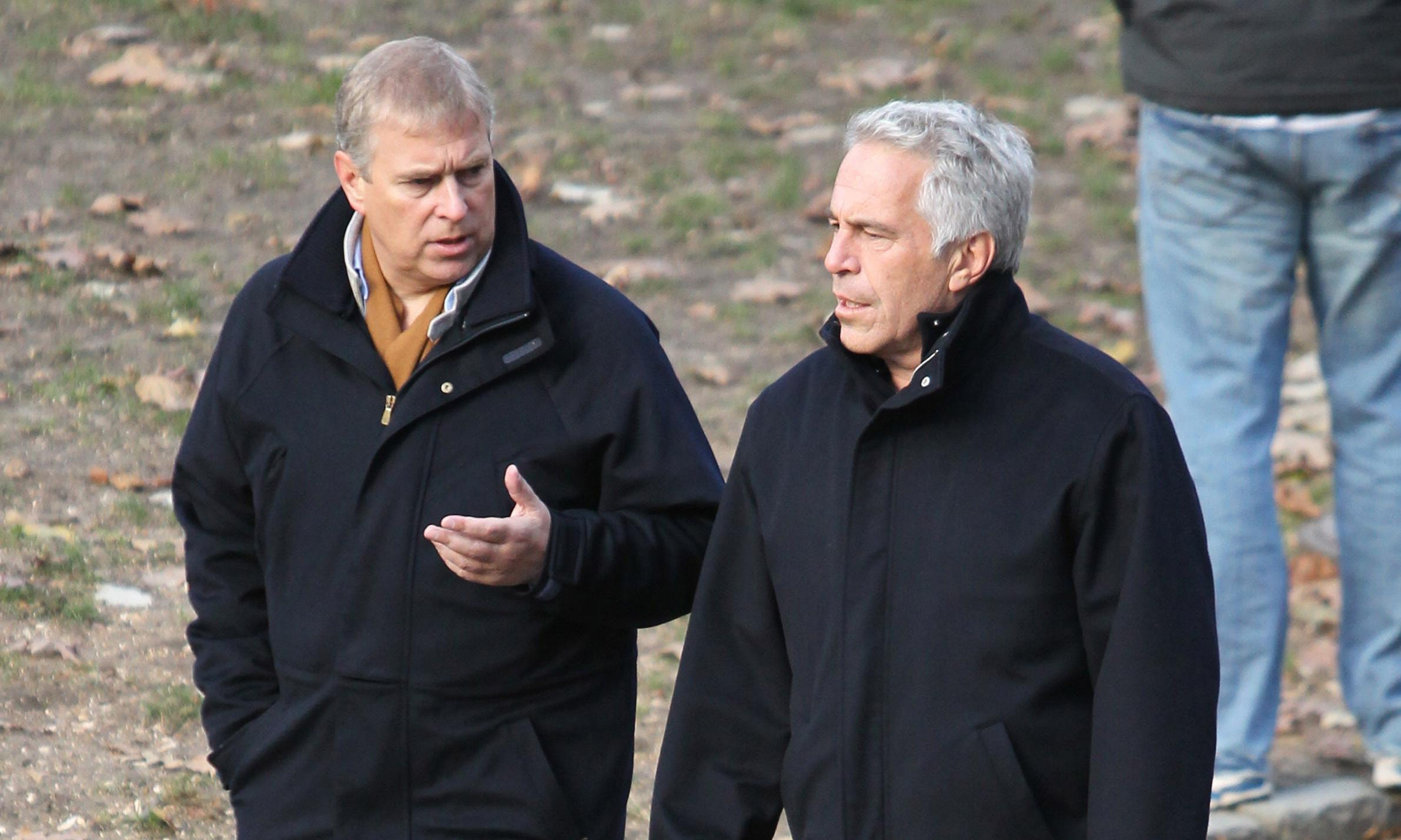Poor Prince Andrew is 'appalled' by Epstein. Let that be an end to it