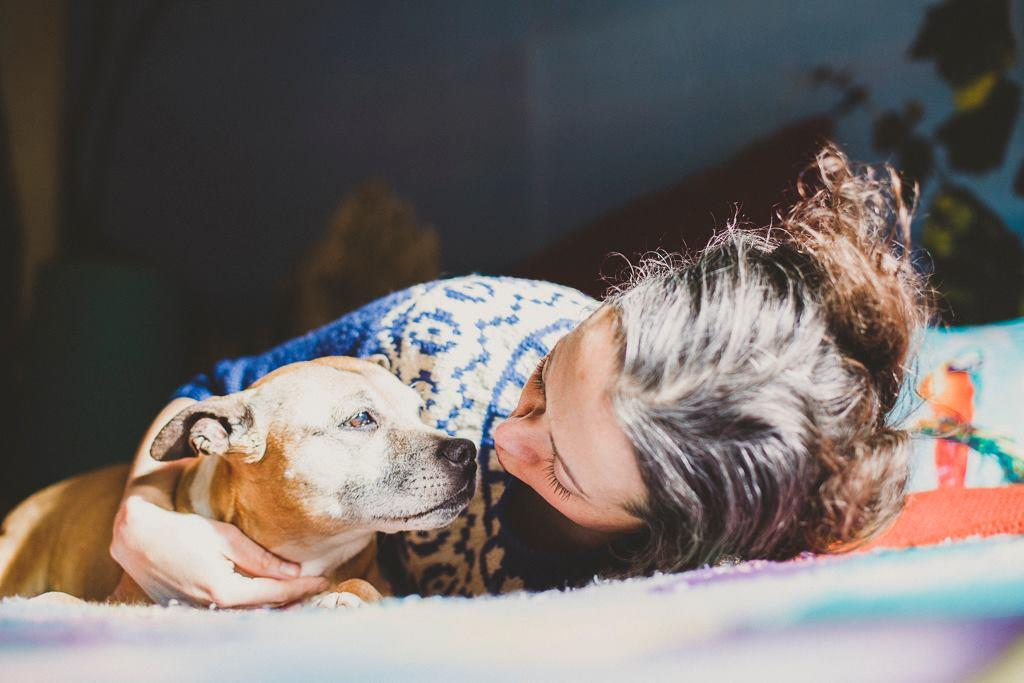 'My dog was looking into my eyes as she died': the grief of losing a pet is real