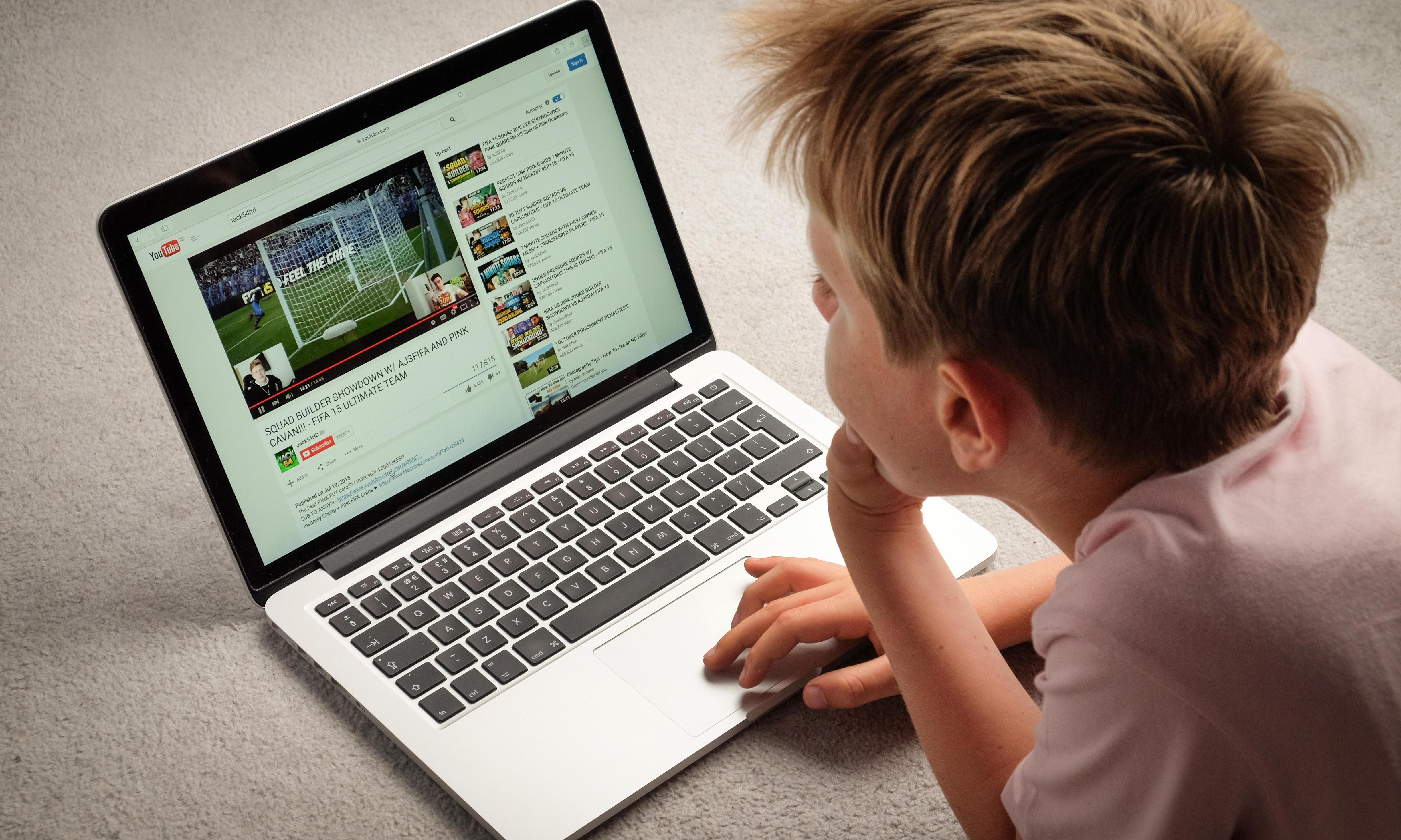 YouTube's fine and child safety online
