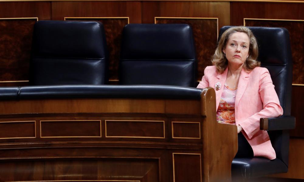 Spanish minister of economic affairs, Nadia Calvino.