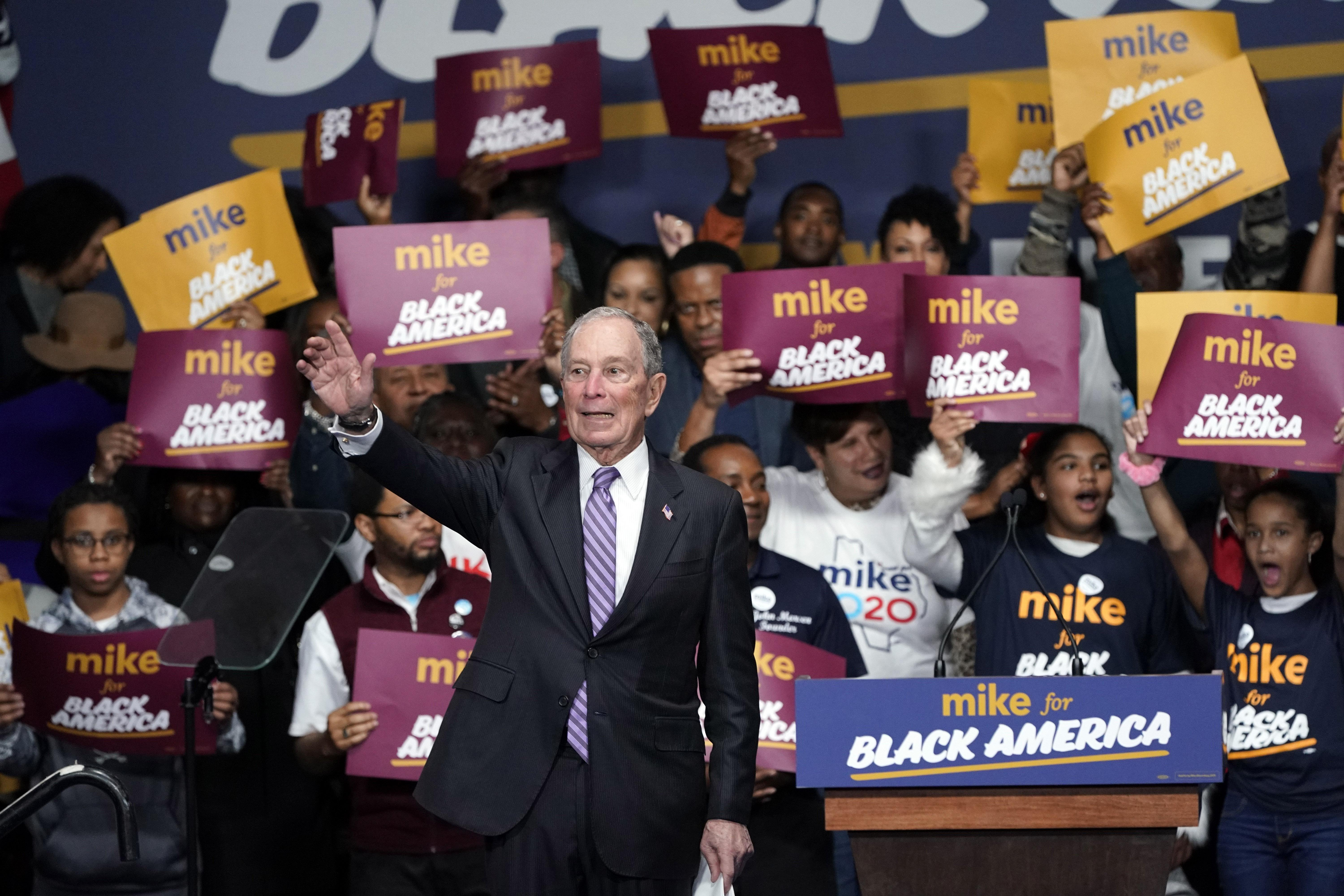 Mike Bloomberg has a terrible past. Will his money stop scrutiny of it?