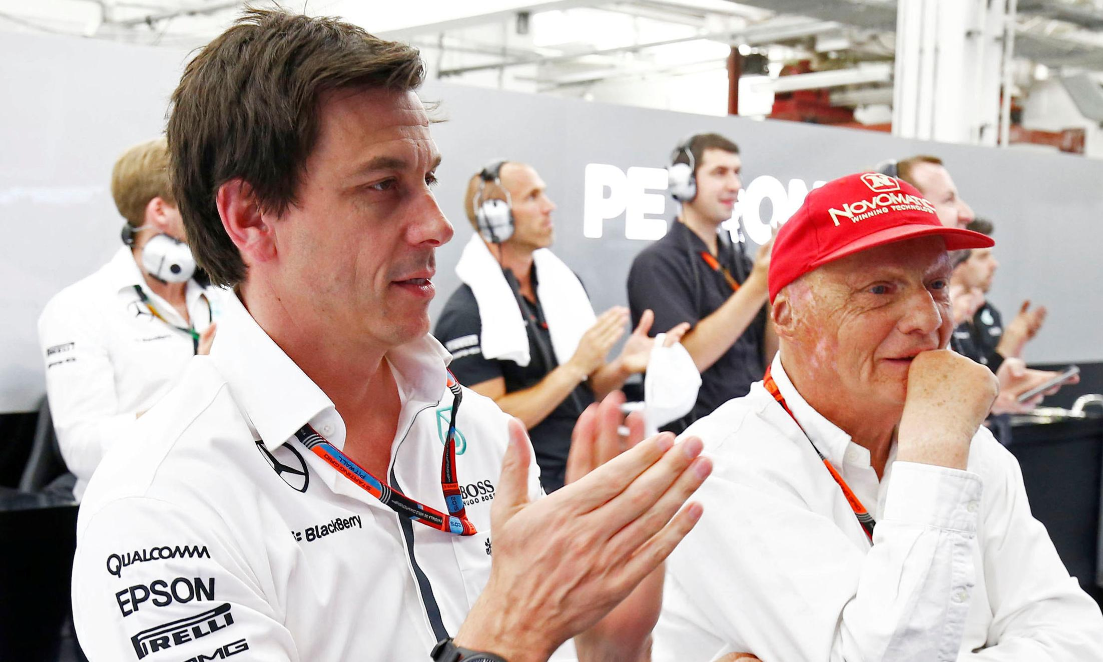 'There is a huge black cloud': Toto Wolff's emotional tribute to Niki Lauda
