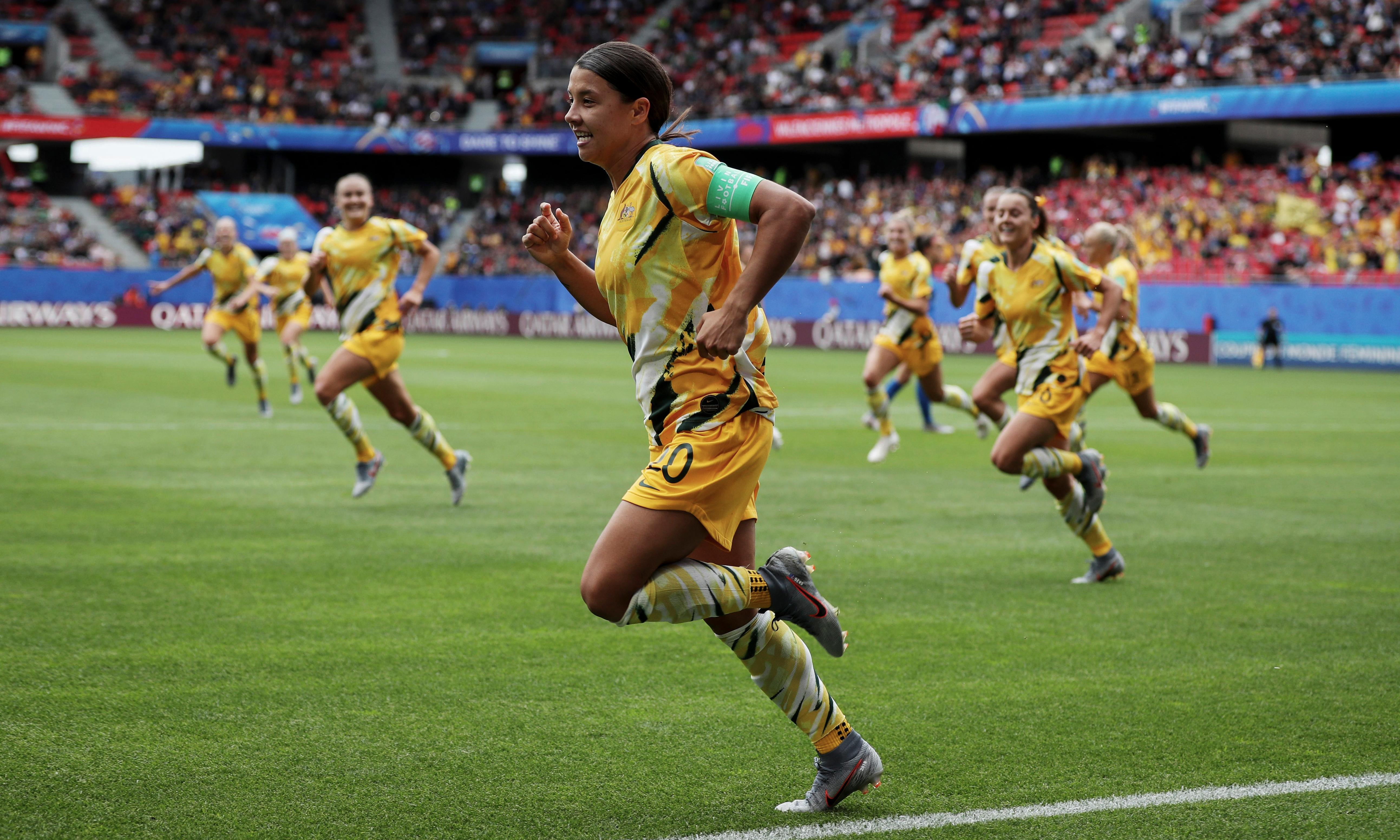 Sam Kerr sees off competition to be voted best female footballer in the world