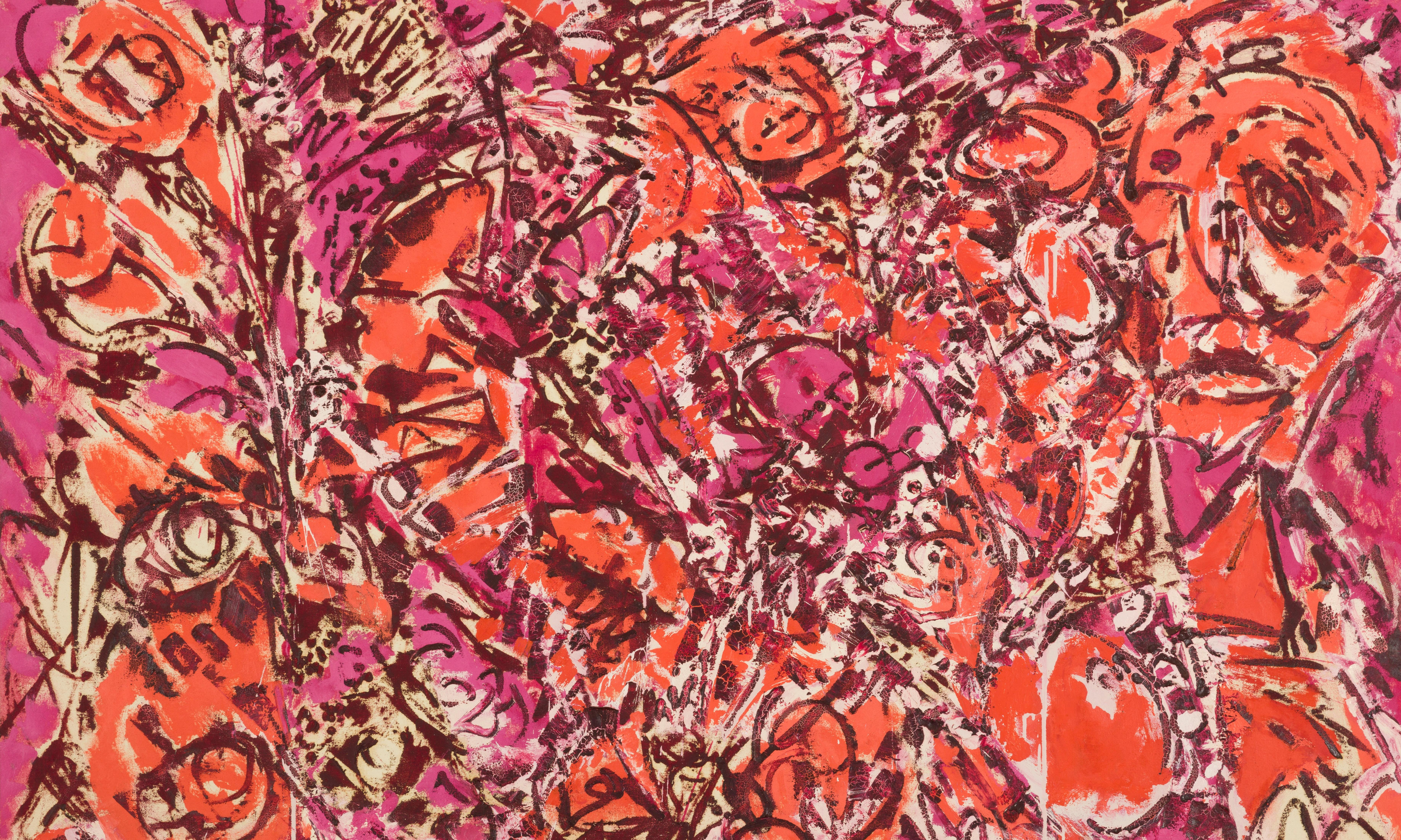 Storms of colour from a wild destructive genius – Lee Krasner review
