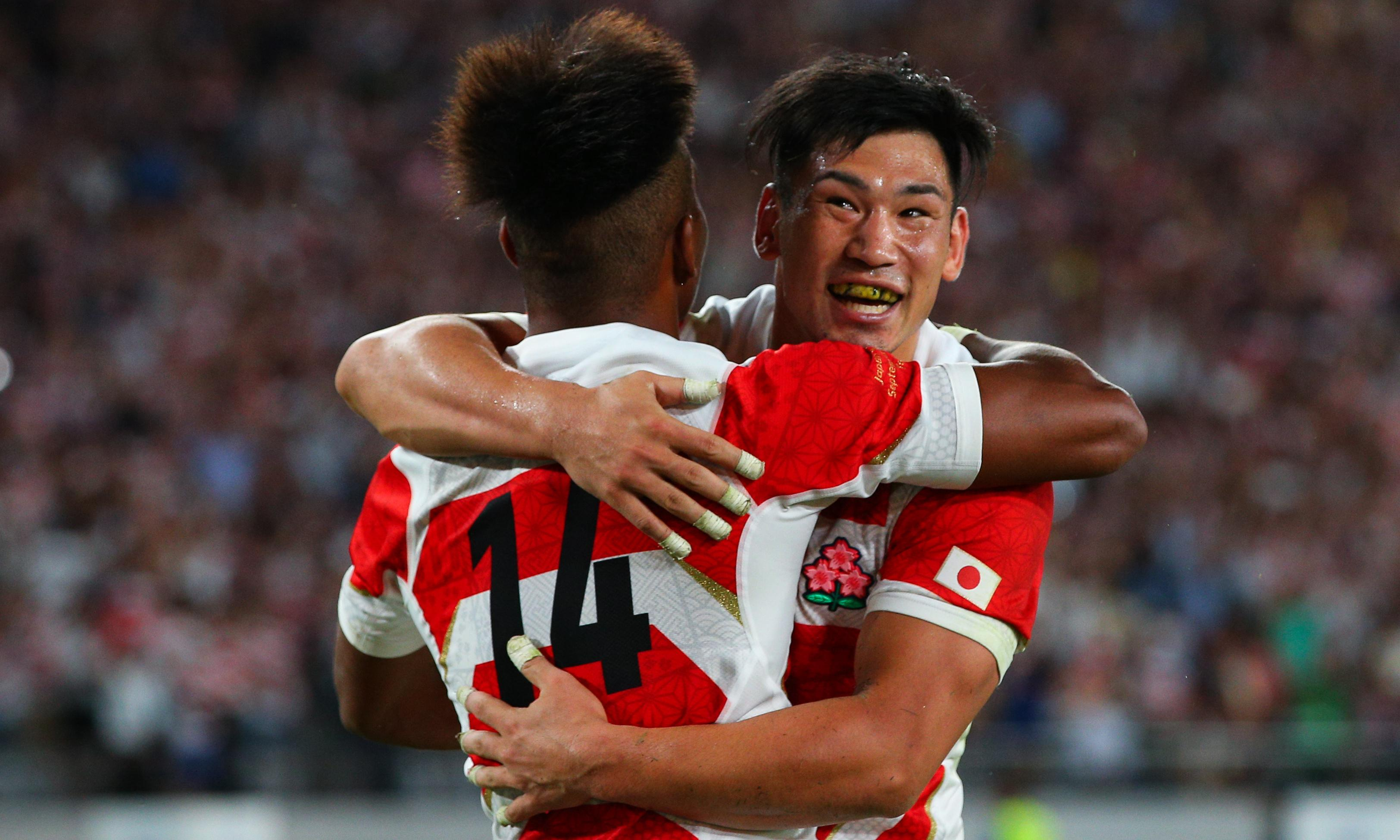 Host Japan rallies to open Rugby World Cup with win over Russia