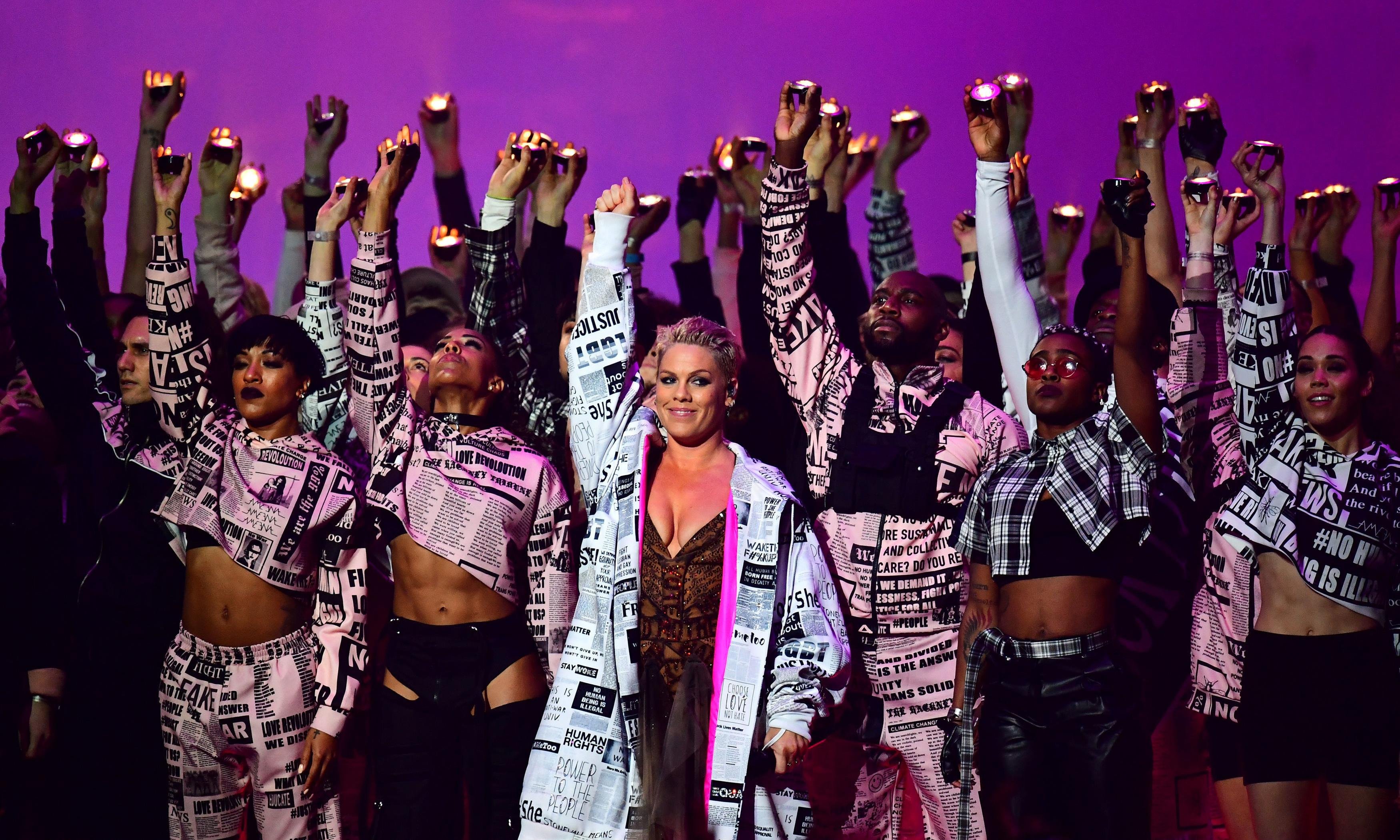 From Pink's medley to Jess Glynne's makeup: every Brits 2019 performance reviewed