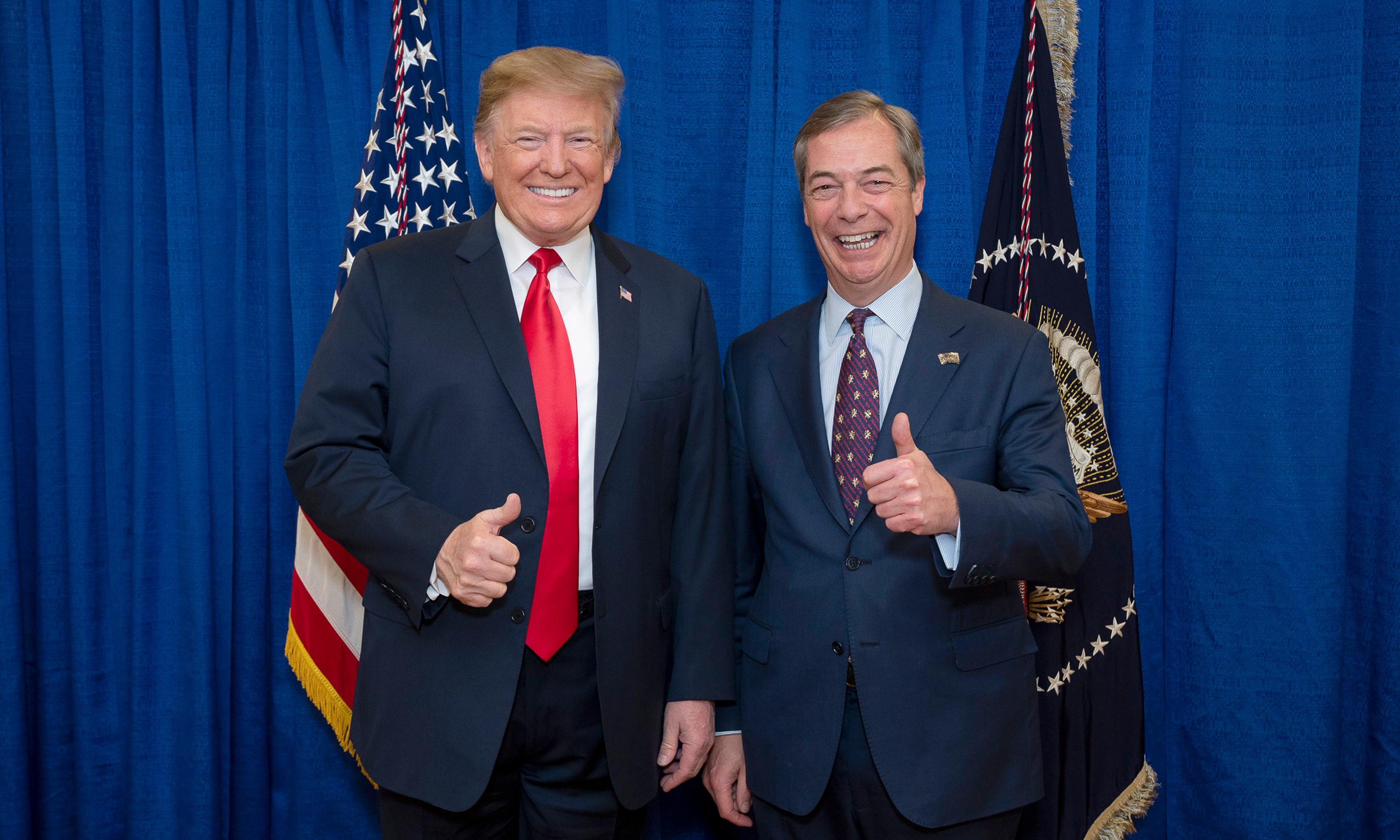 A chaotic Brexit is part of Trump's grand plan for Europe
