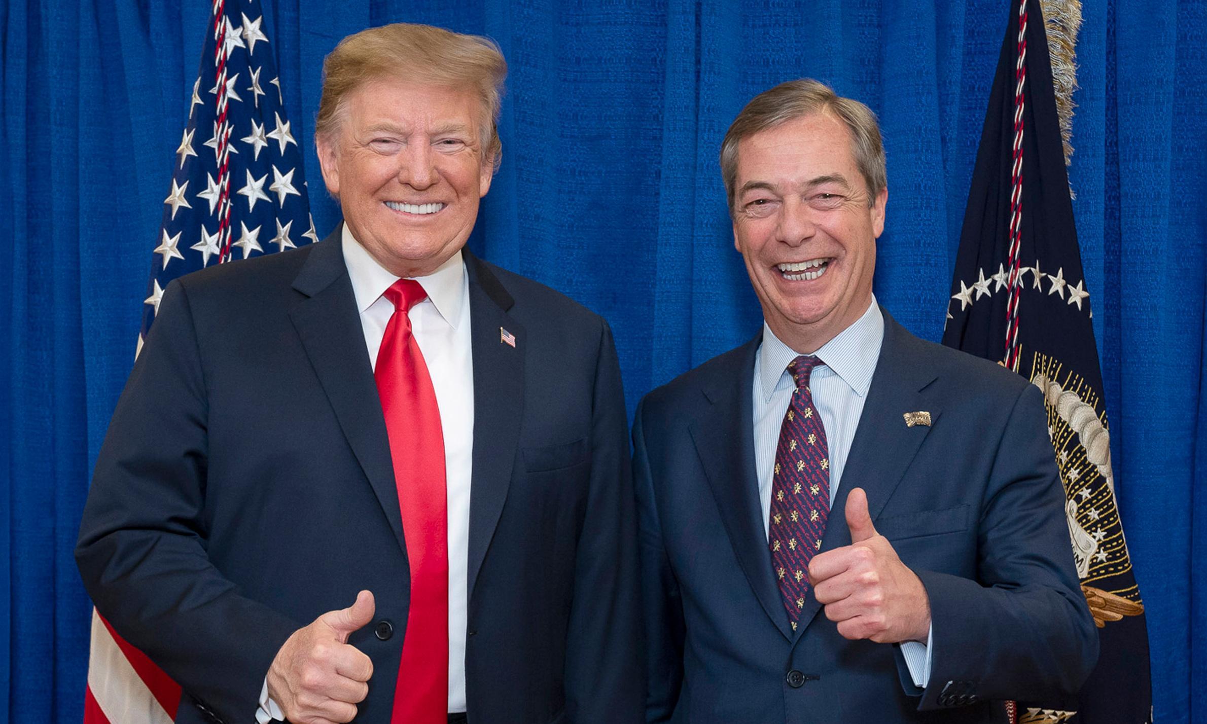Donald Trump's 'go back' comments were 'genius', says Nigel Farage