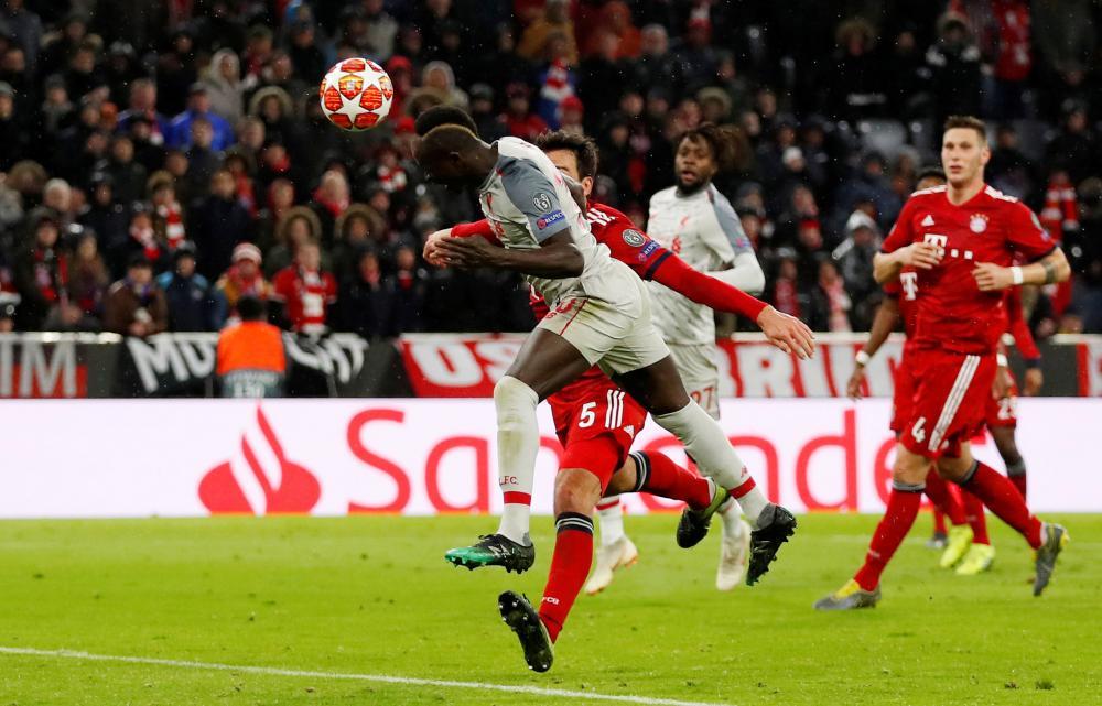 Mane scores Liverpool's third goal.
