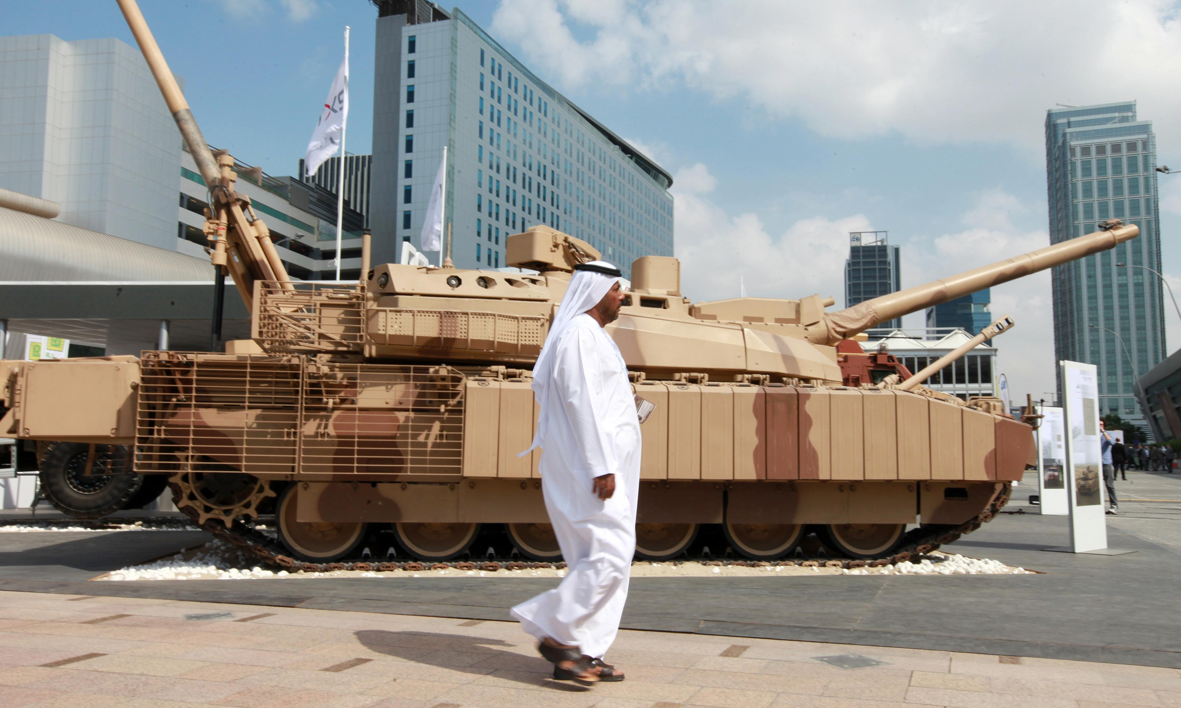 Global arms trade reaches highest point since cold war era
