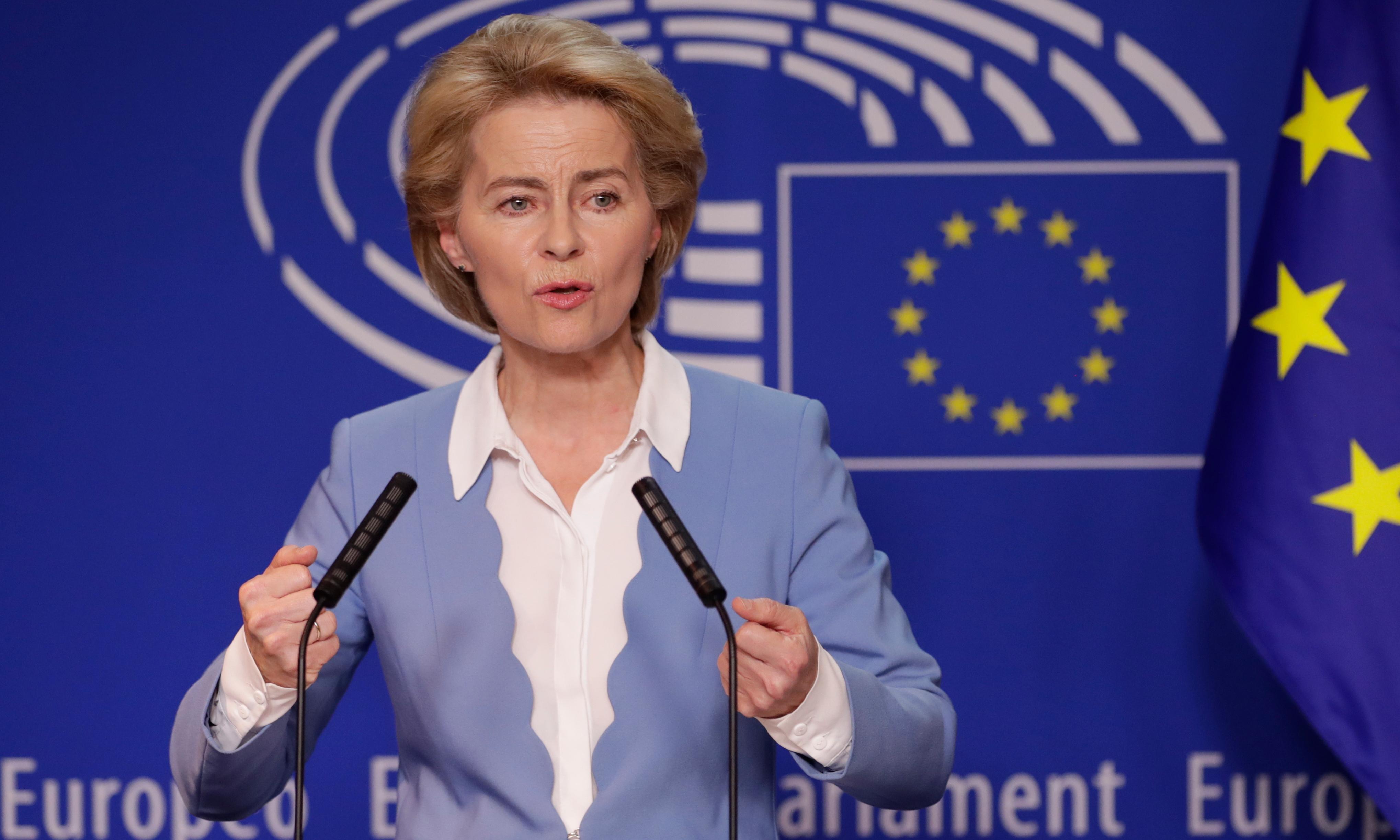 Ursula von der Leyen makes final pledges to secure EU's top job