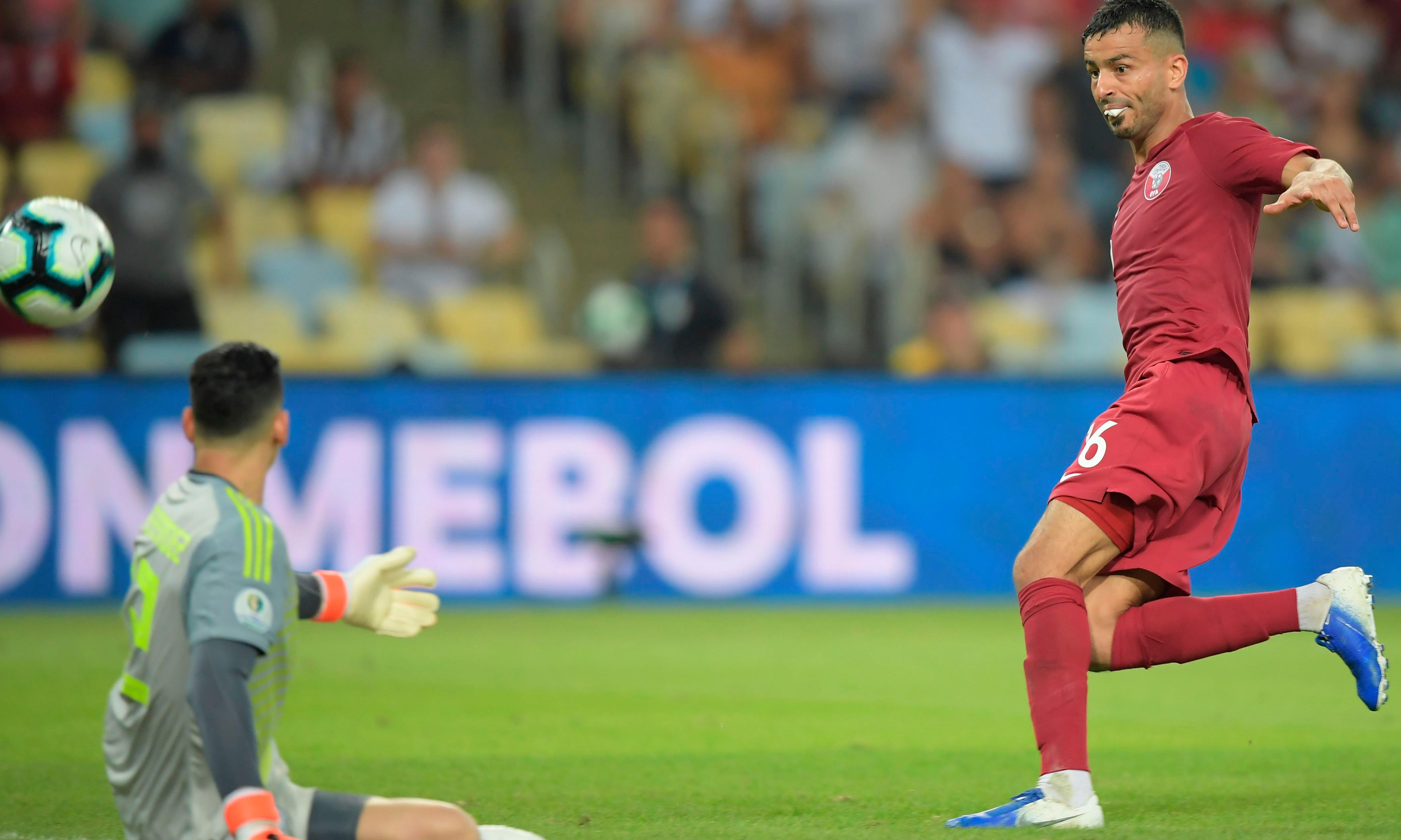 Qatar fight back to force draw with Paraguay on Copa América debut