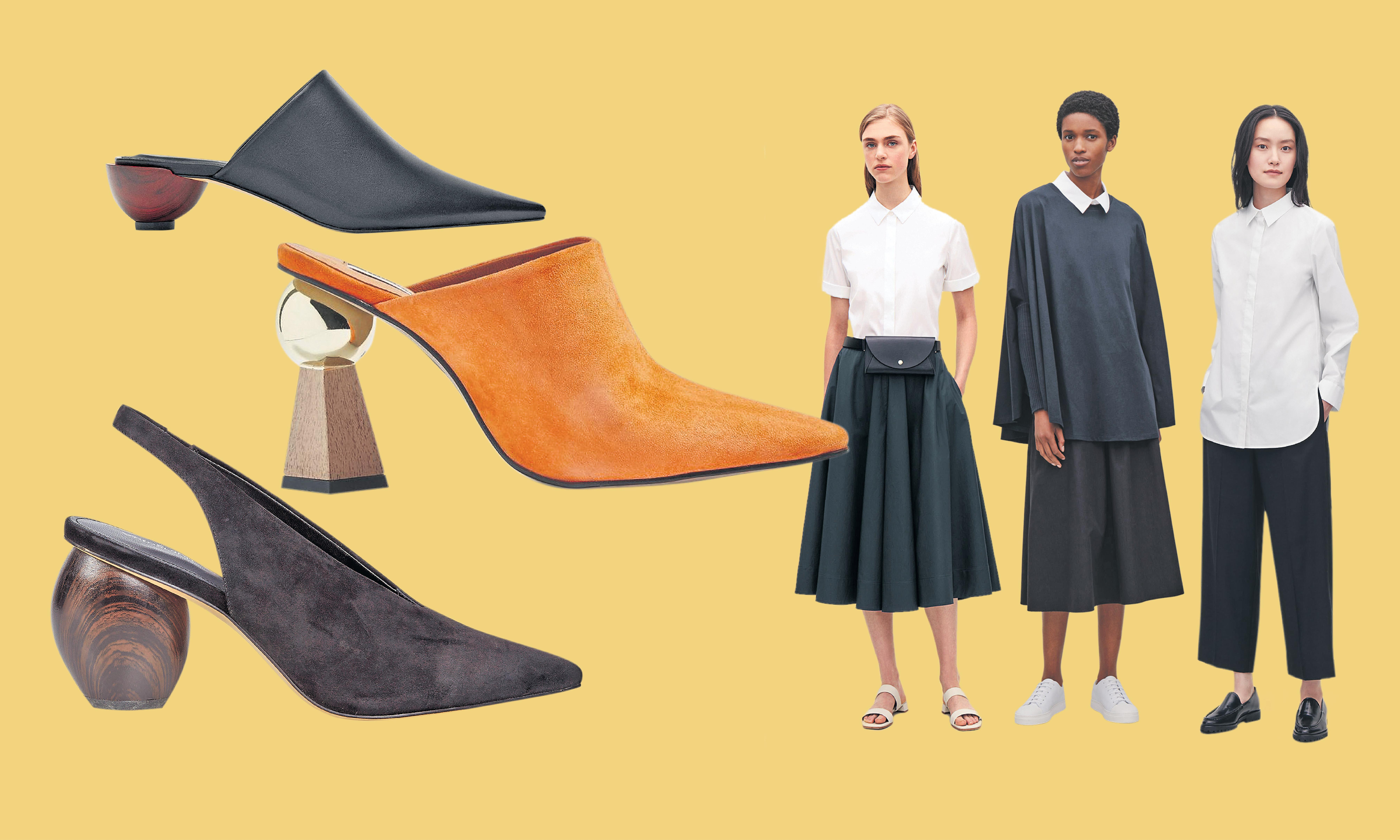 Structure your wardrobe: how to dress like an architect​