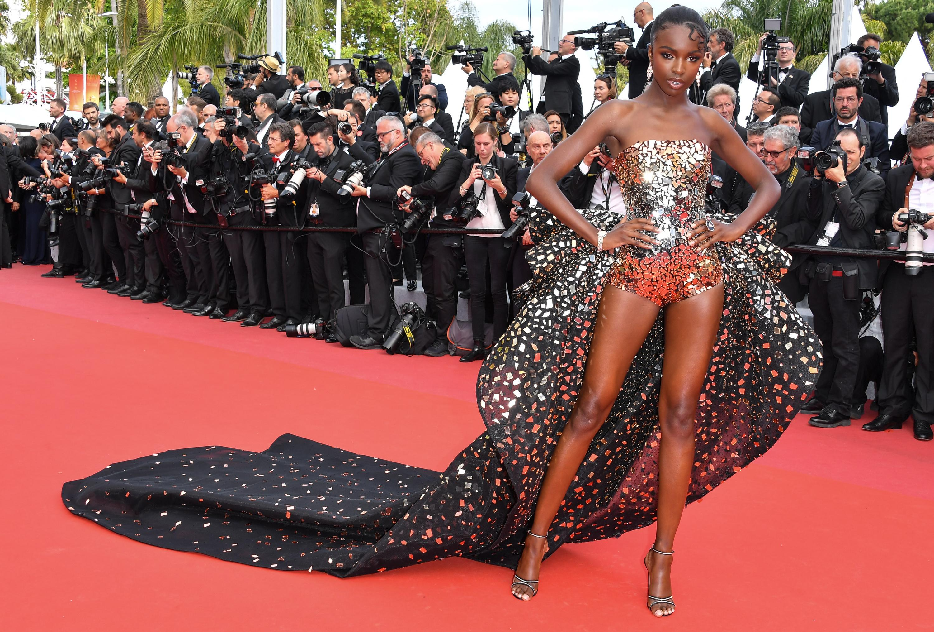 Leomie Anderson: 'Putting on this dress took 30 minutes – but it was such fun to wear'
