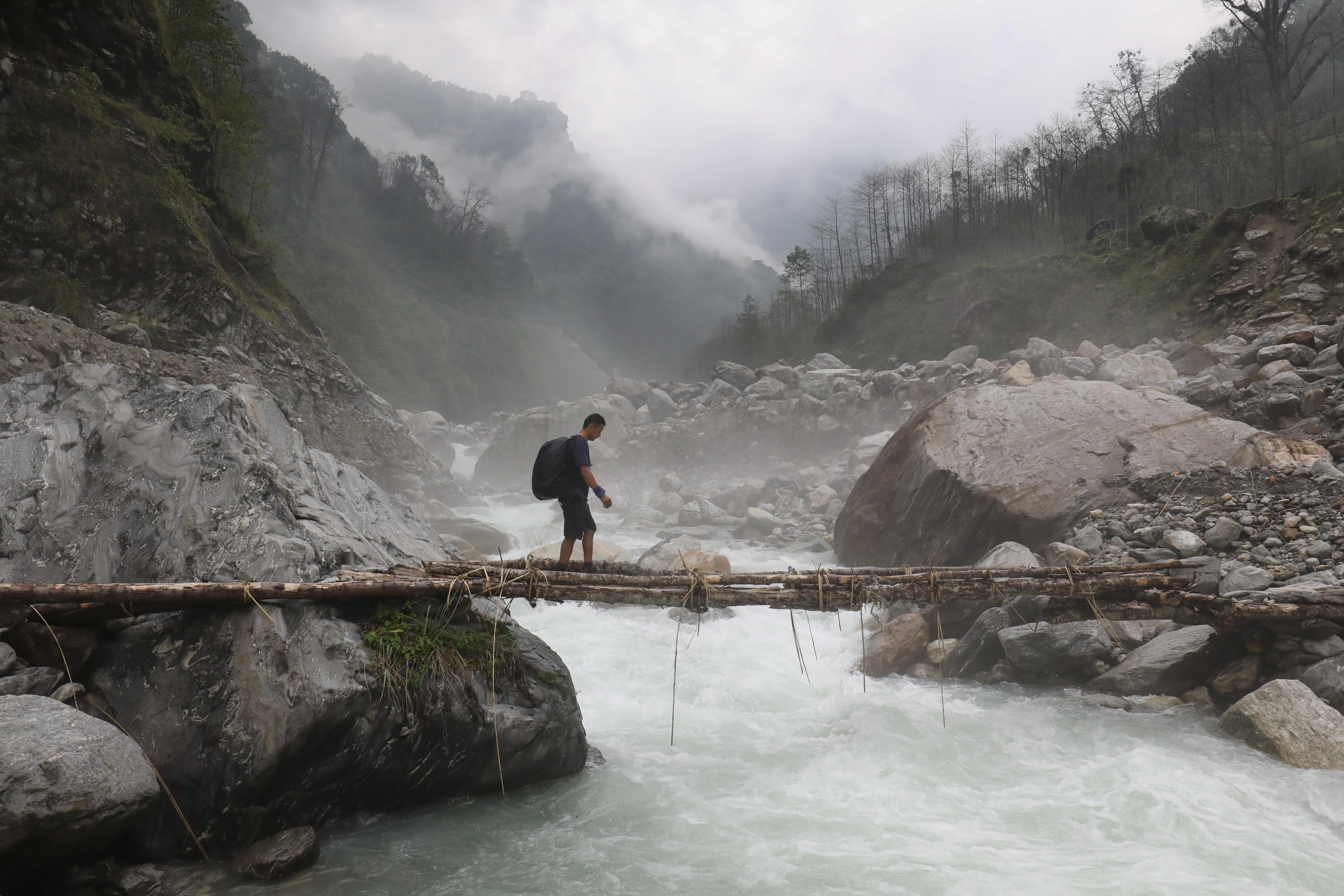 Trek back in time 'to the real Nepal'