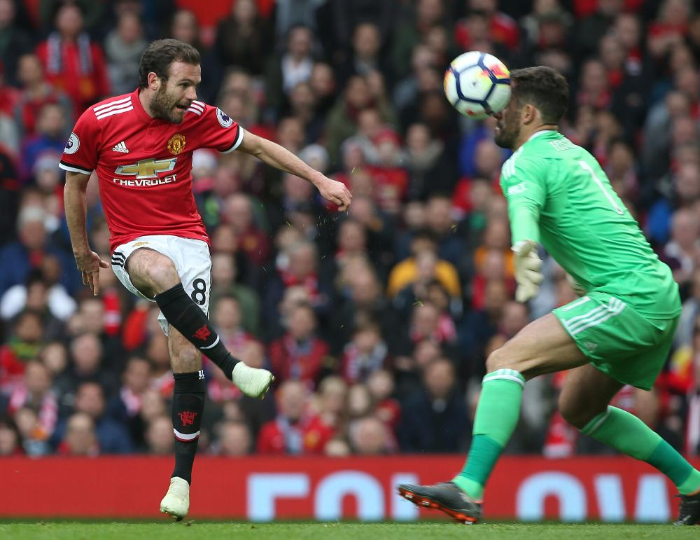 Foster saves from Mata.