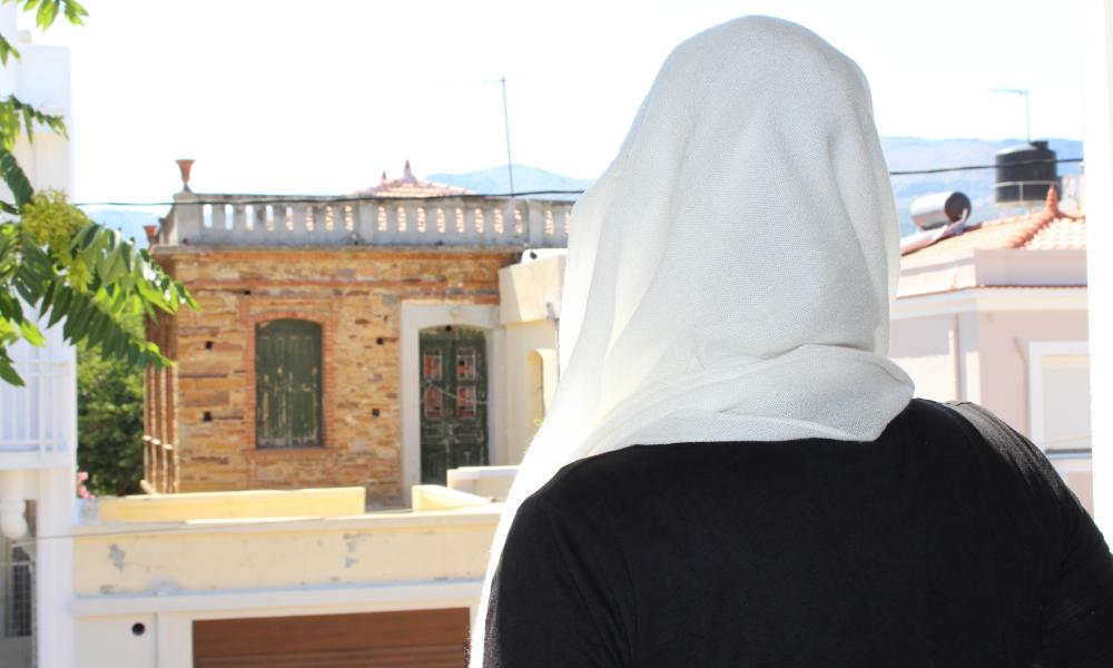 Amira, 15, from Damascus.