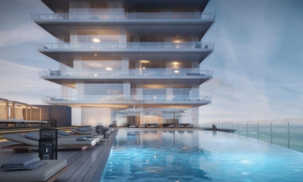 The Aston Martin Residences in Miami.