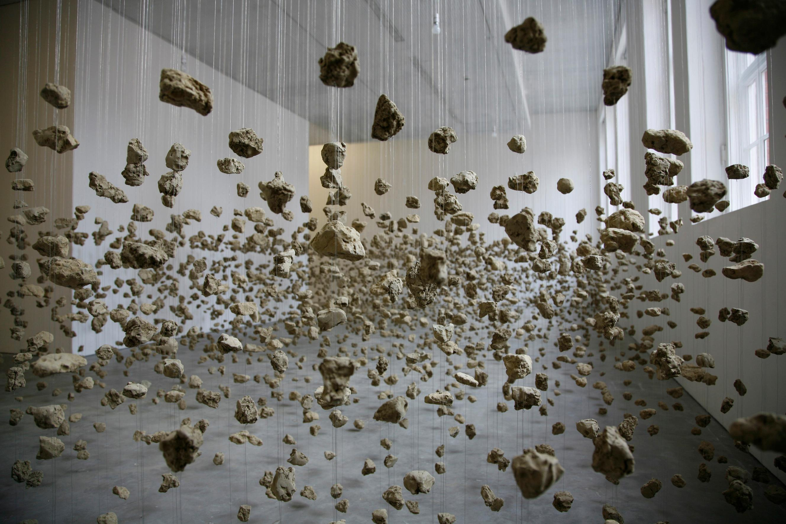 Steamrollers, explosions, and 'cartoon violence': the artistic eruptions of Cornelia Parker