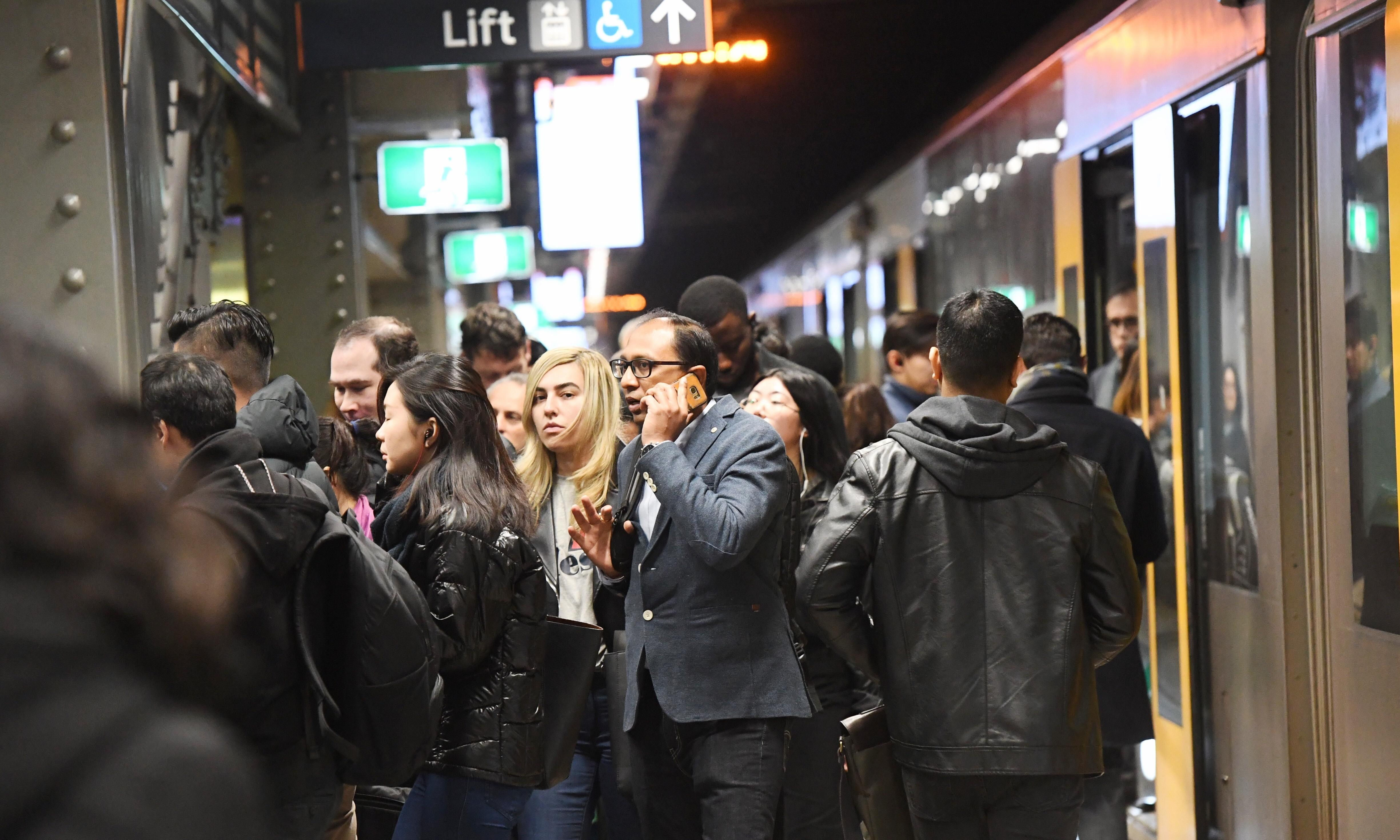 Sydney train delays trigger chaos across the city and commuter rage