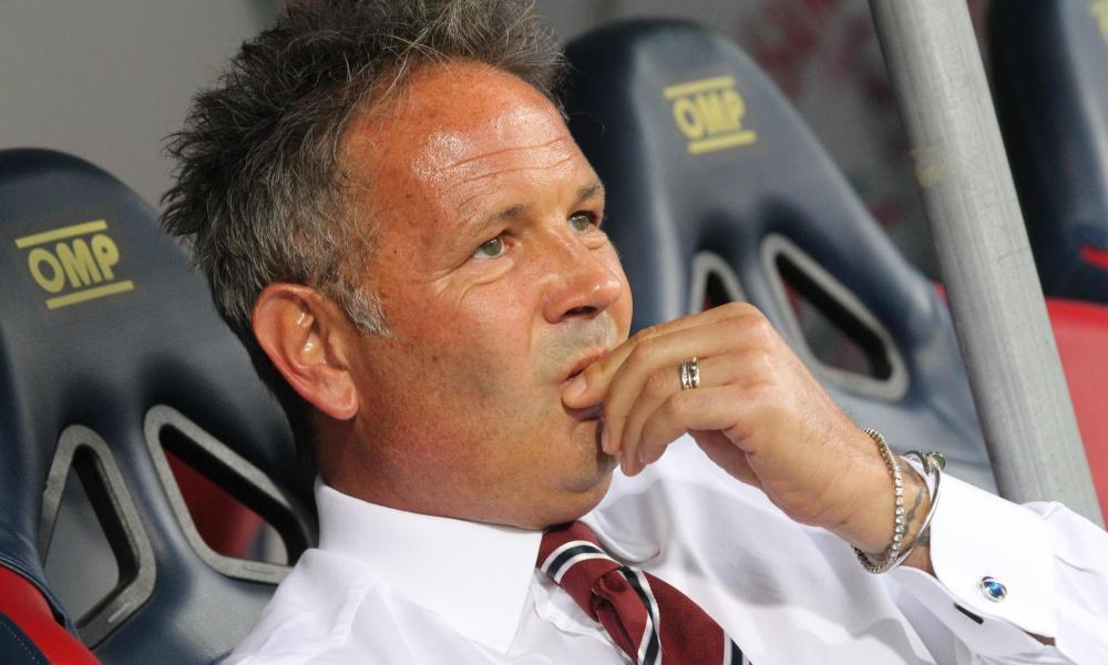 Sinisa Mihajlovic, head coach of Torino,