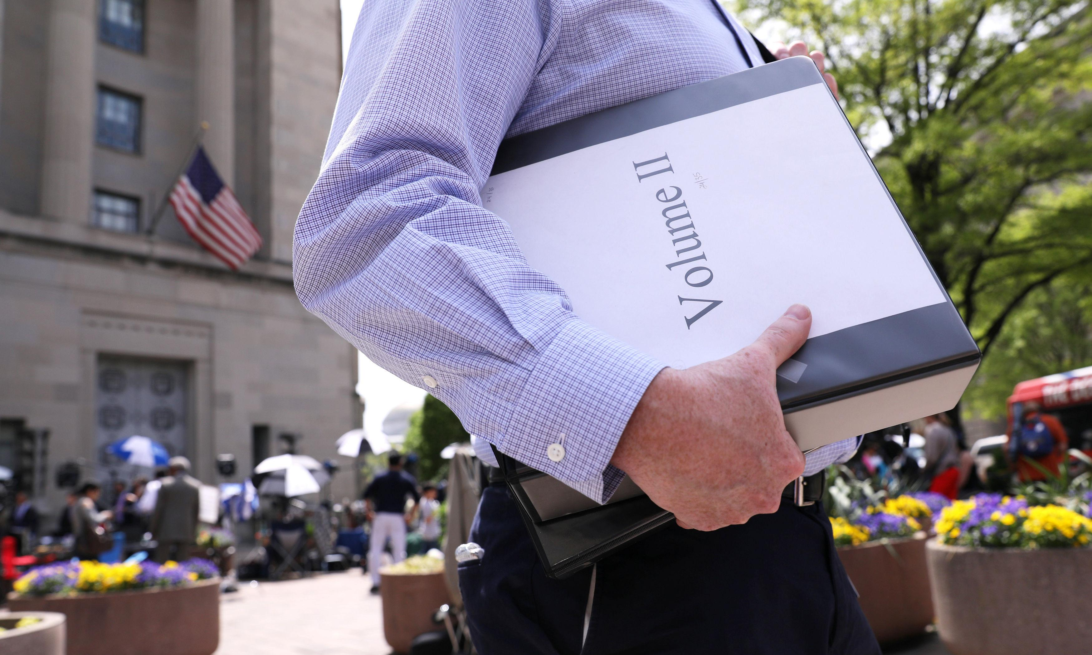 Mueller report unable to clear Trump of obstruction of justice