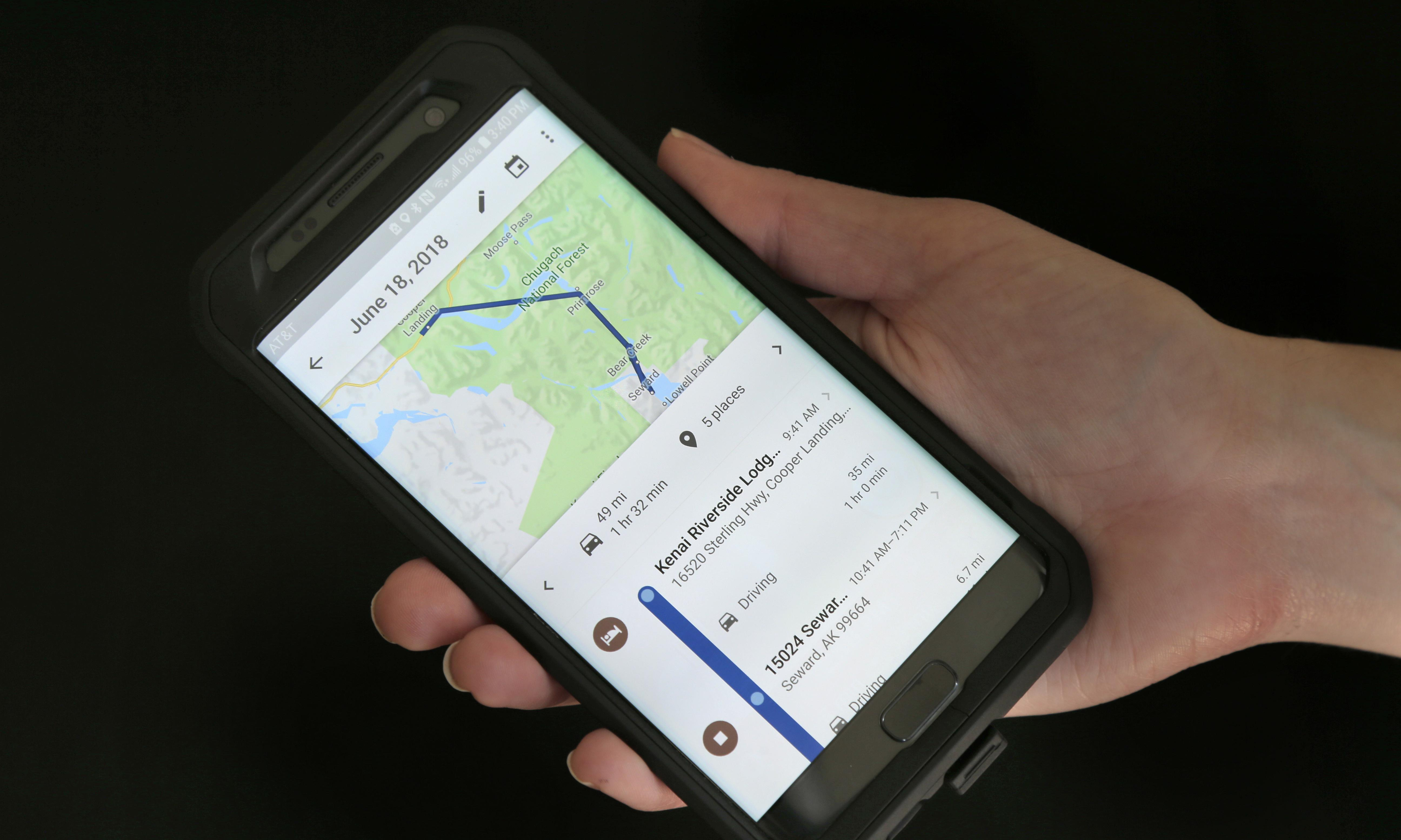 Tired of Google following you? It is now easier to clear location data