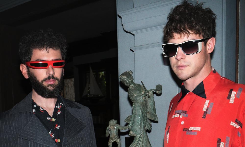 MGMT's Ben Goldwasser and Andrew VanWyngarden.