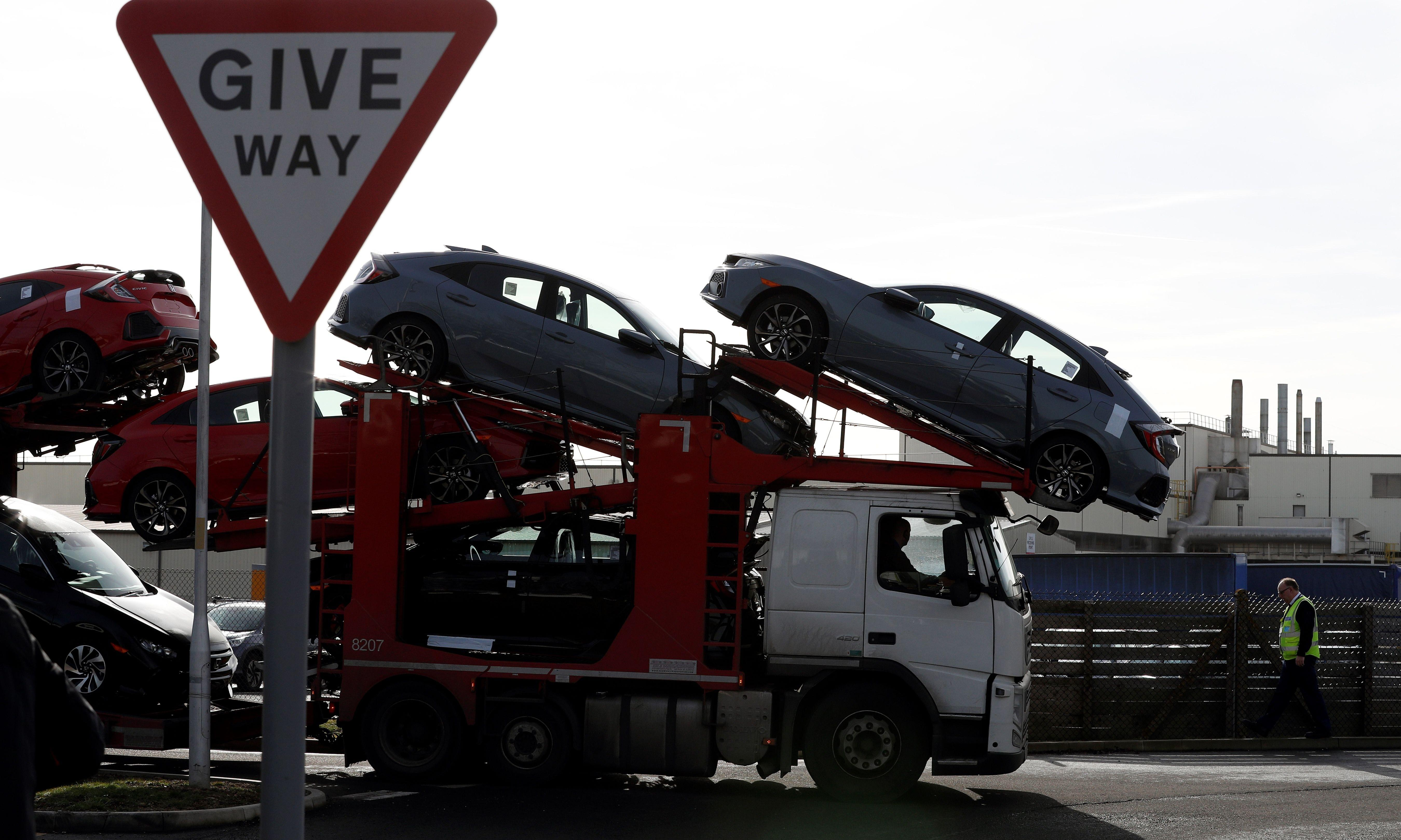 Carmakers quitting Britain won't blame Brexit – it's not in their interest