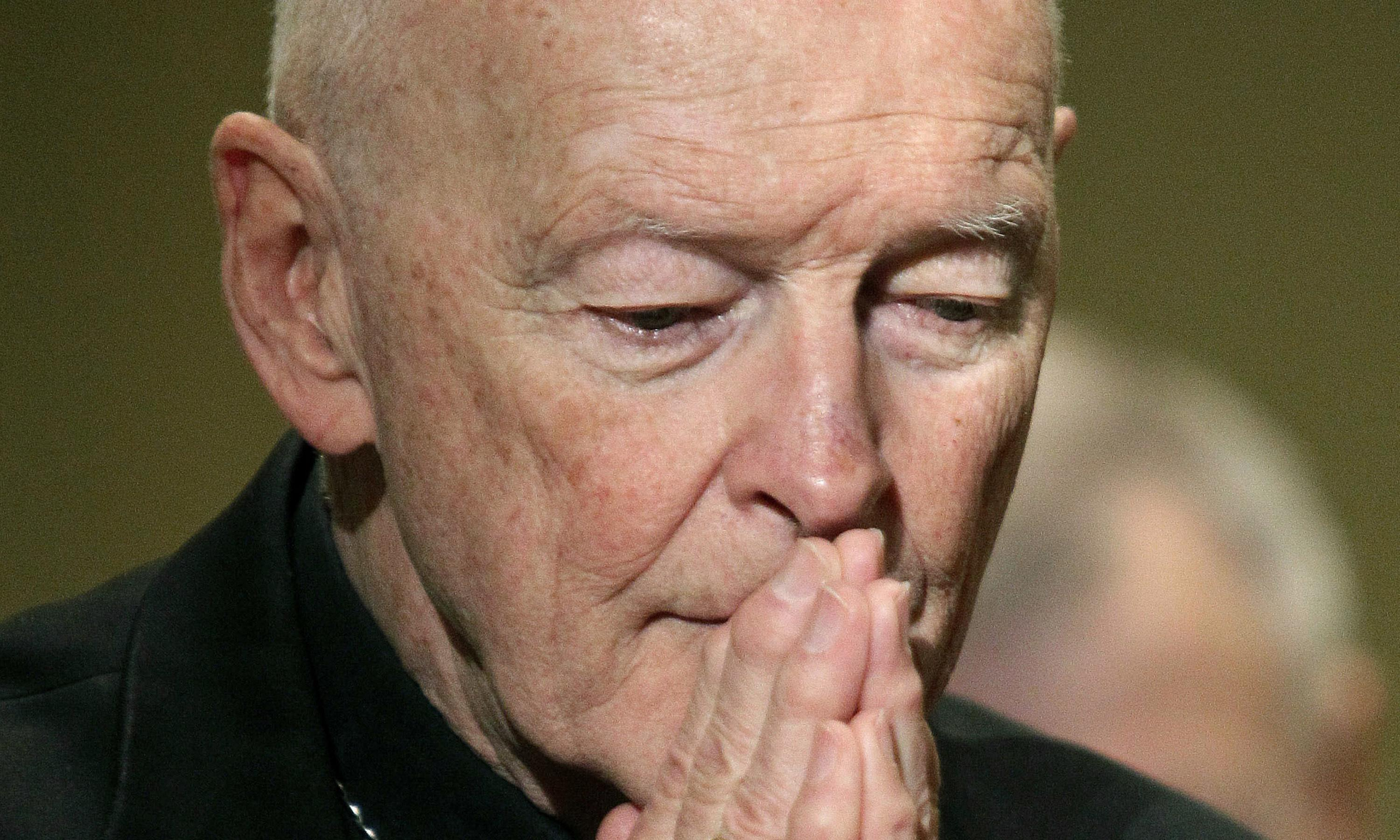 Pope defrocks ex-cardinal Theodore McCarrick over abuse claims