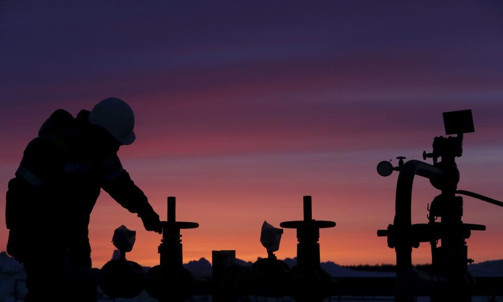 An oil field near Bashkortostan.