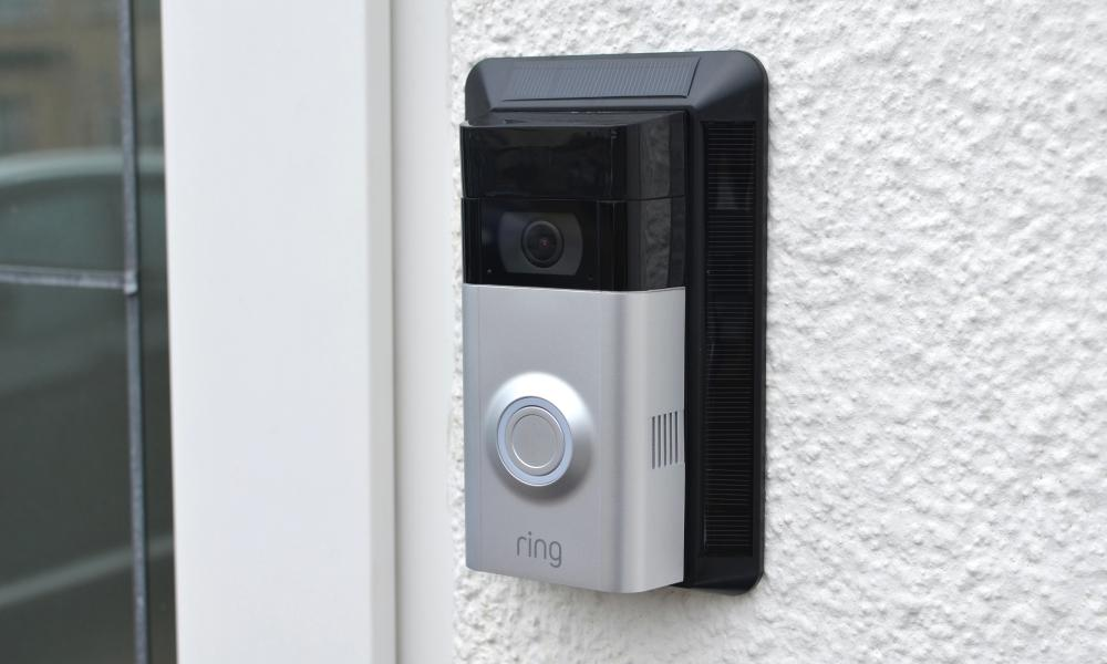 Ring Doorbell Camera And Solar Panel