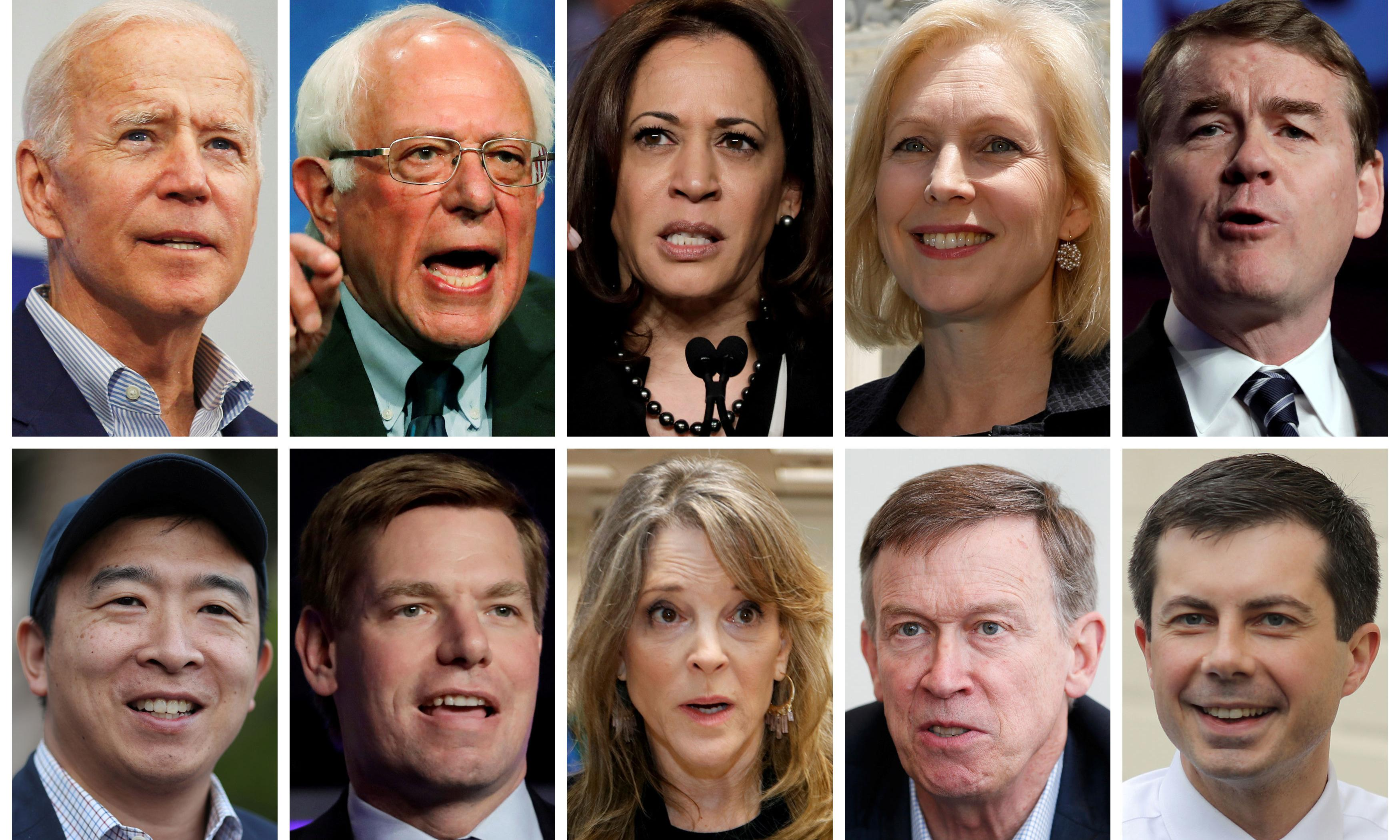 Democratic candidates debate: Sanders, Harris and Biden will spar in two-night event