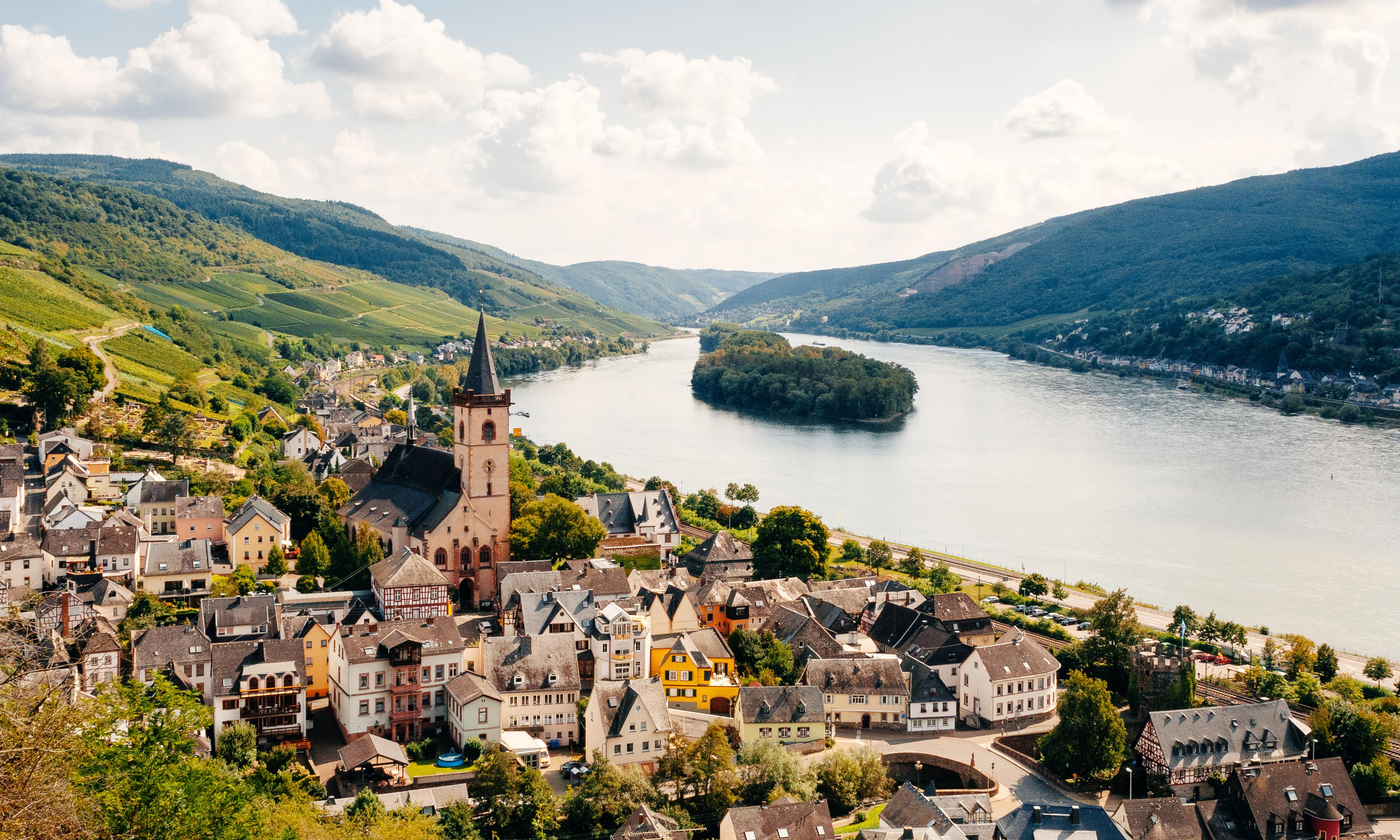 A Rhine romance: following the mighty river