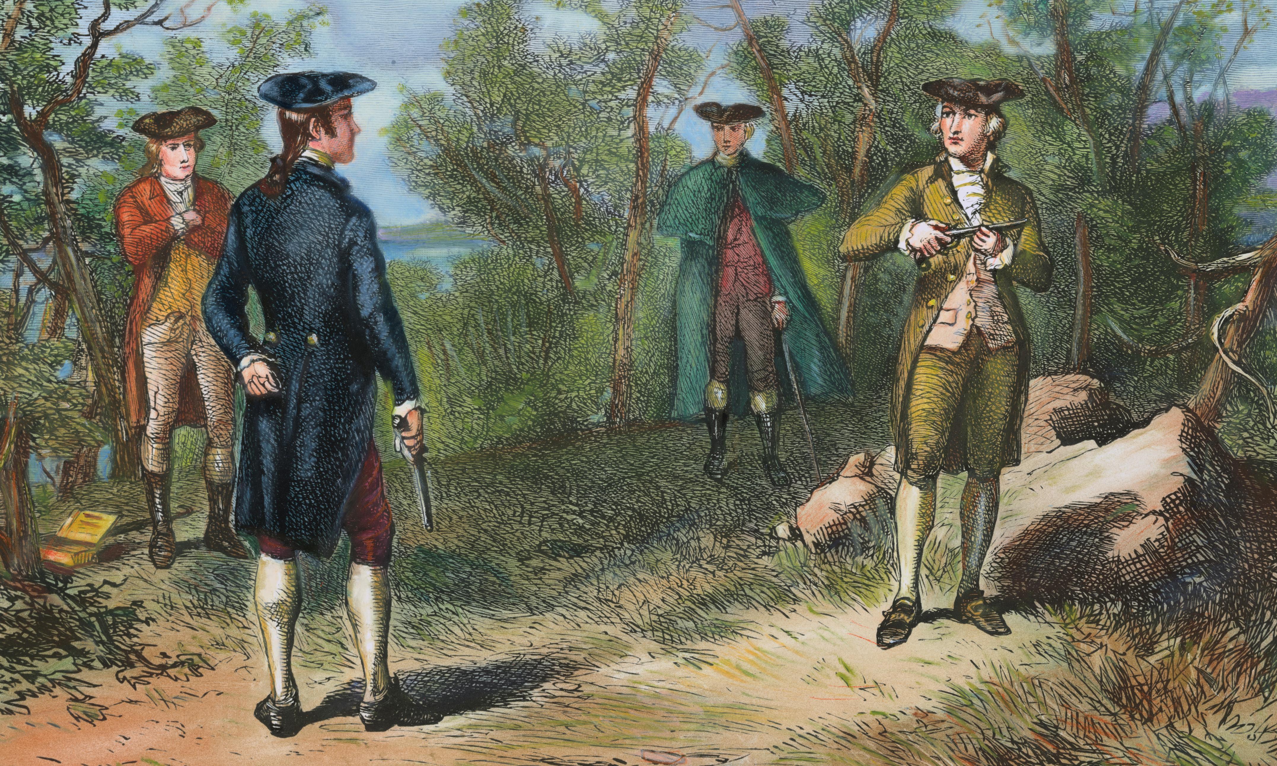 Aaron Burr, vice-president who killed Hamilton, had children of color