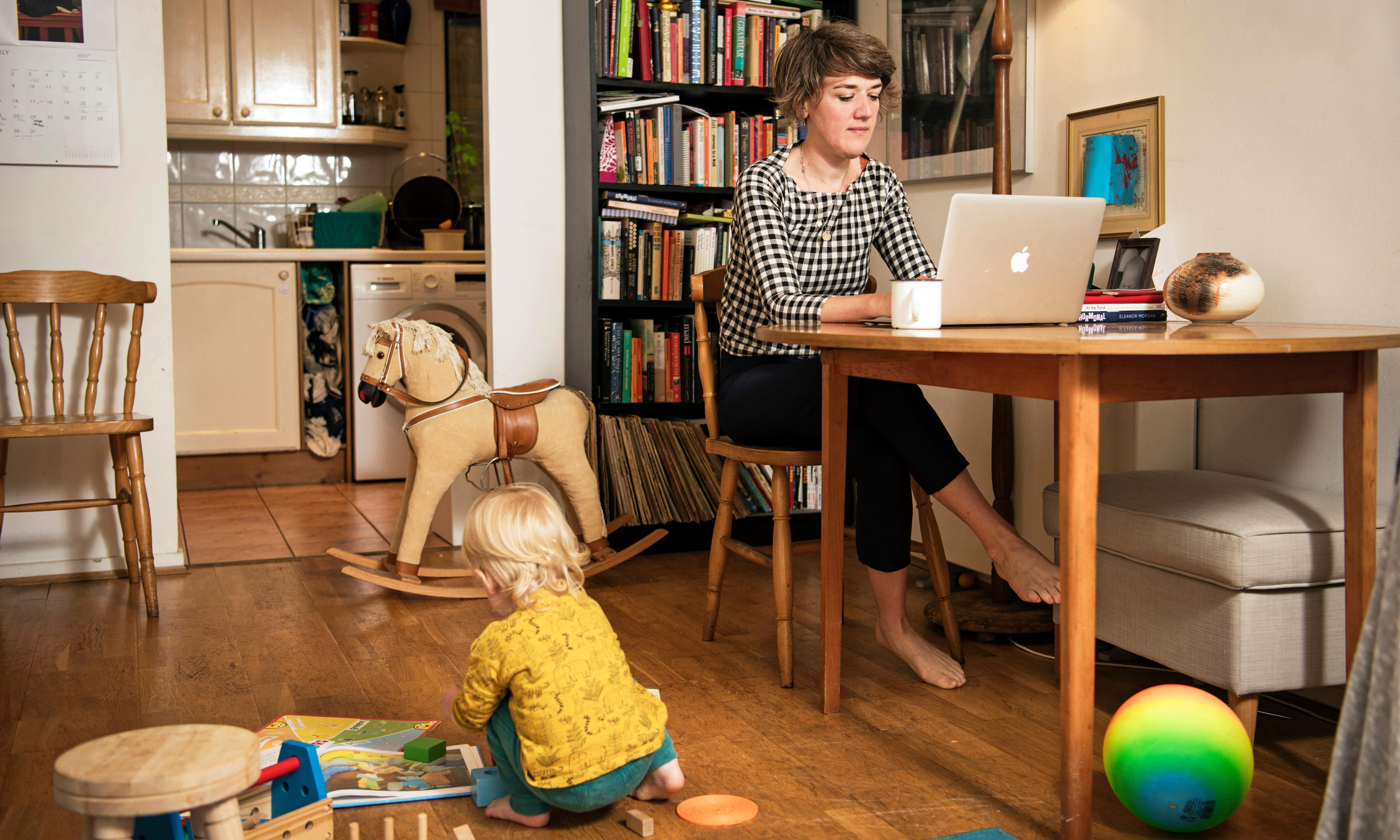 I learned I could do my job and not feel ashamed of having a baby