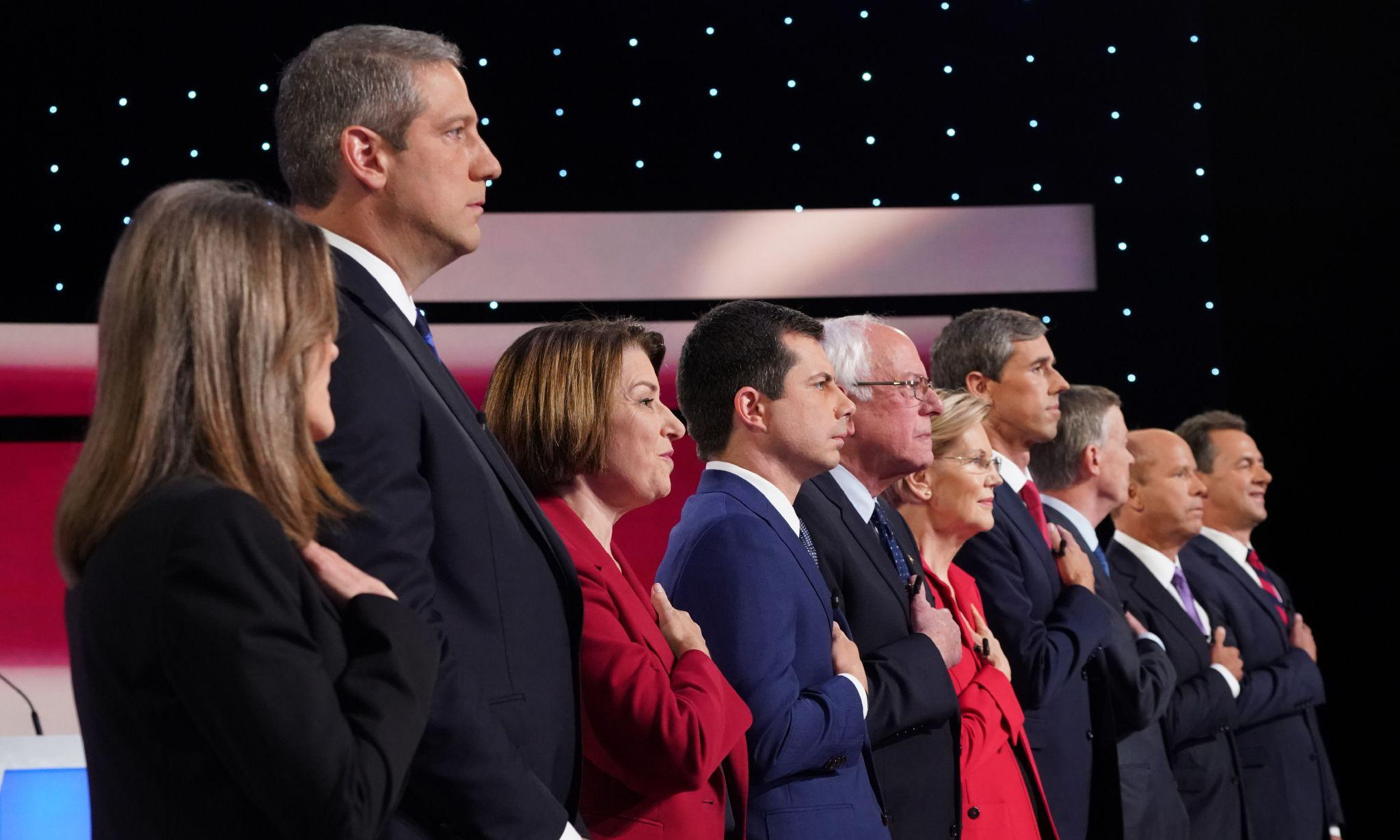A Democratic debate on the climate crisis? Party to vote on urgent idea