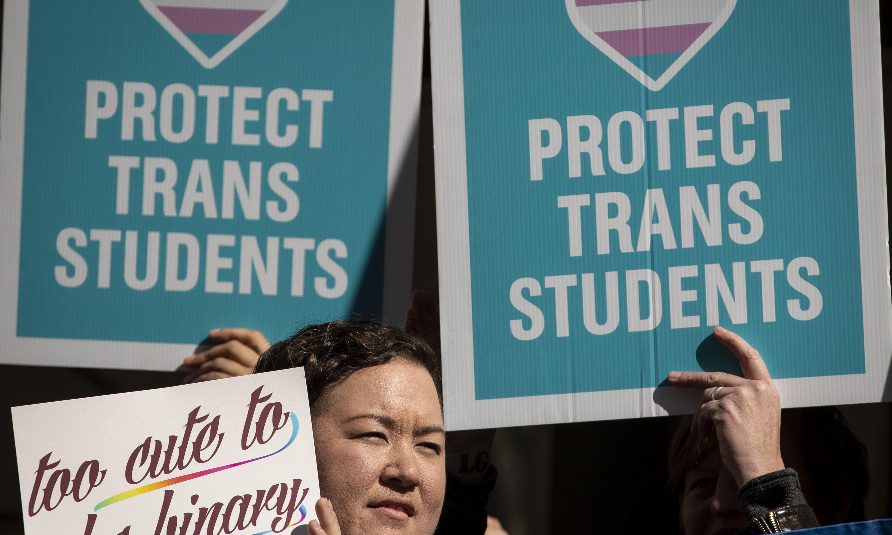 Top US companies stand up to oppose Trump effort to roll back trans rights
