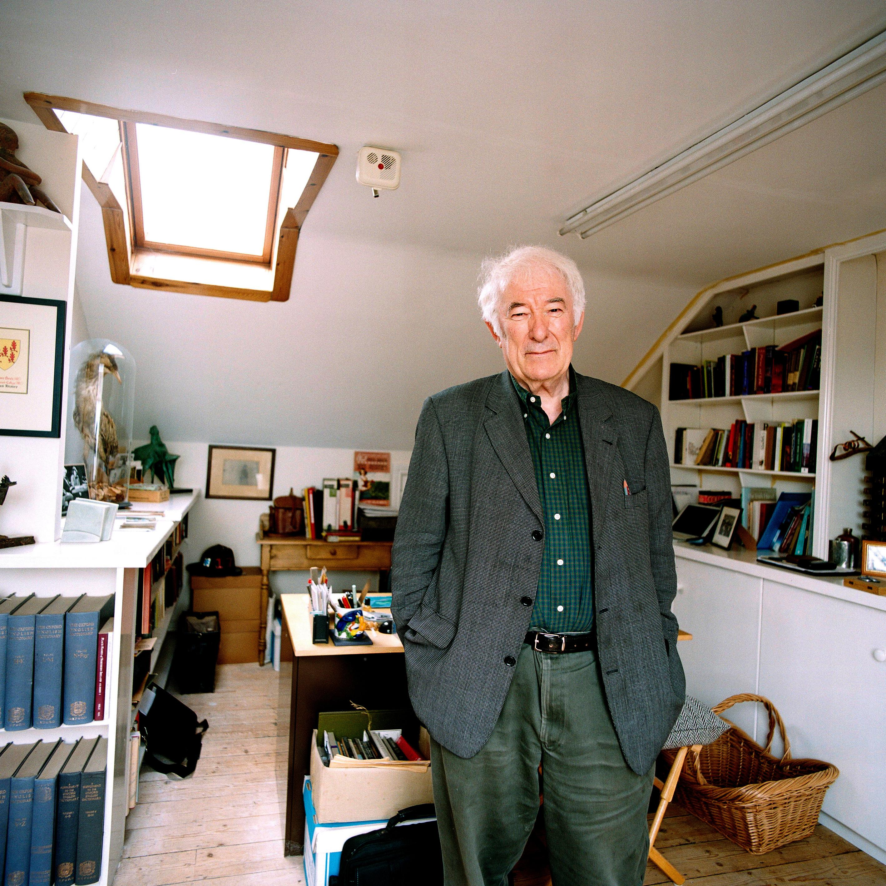 Seamus Heaney's words heal wounds reopened on Ireland's border