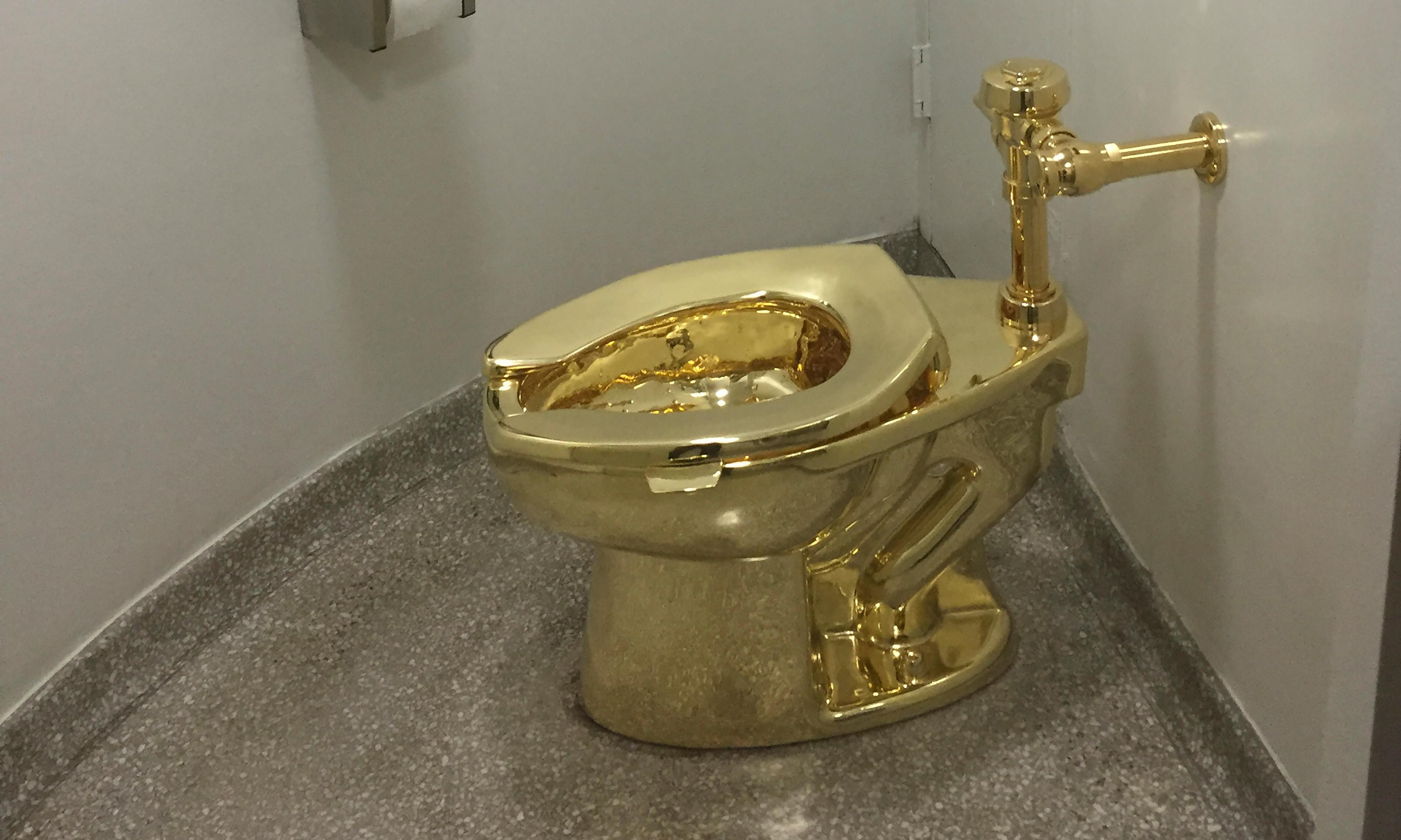 Artist pans claims he orchestrated theft of solid gold toilet