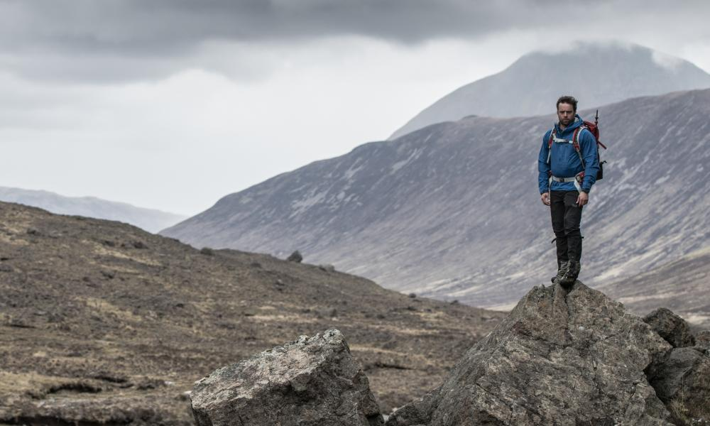 'You don't want an emergency in a place like this' … writer Simon Ingram in Harta Corrie on Skye.