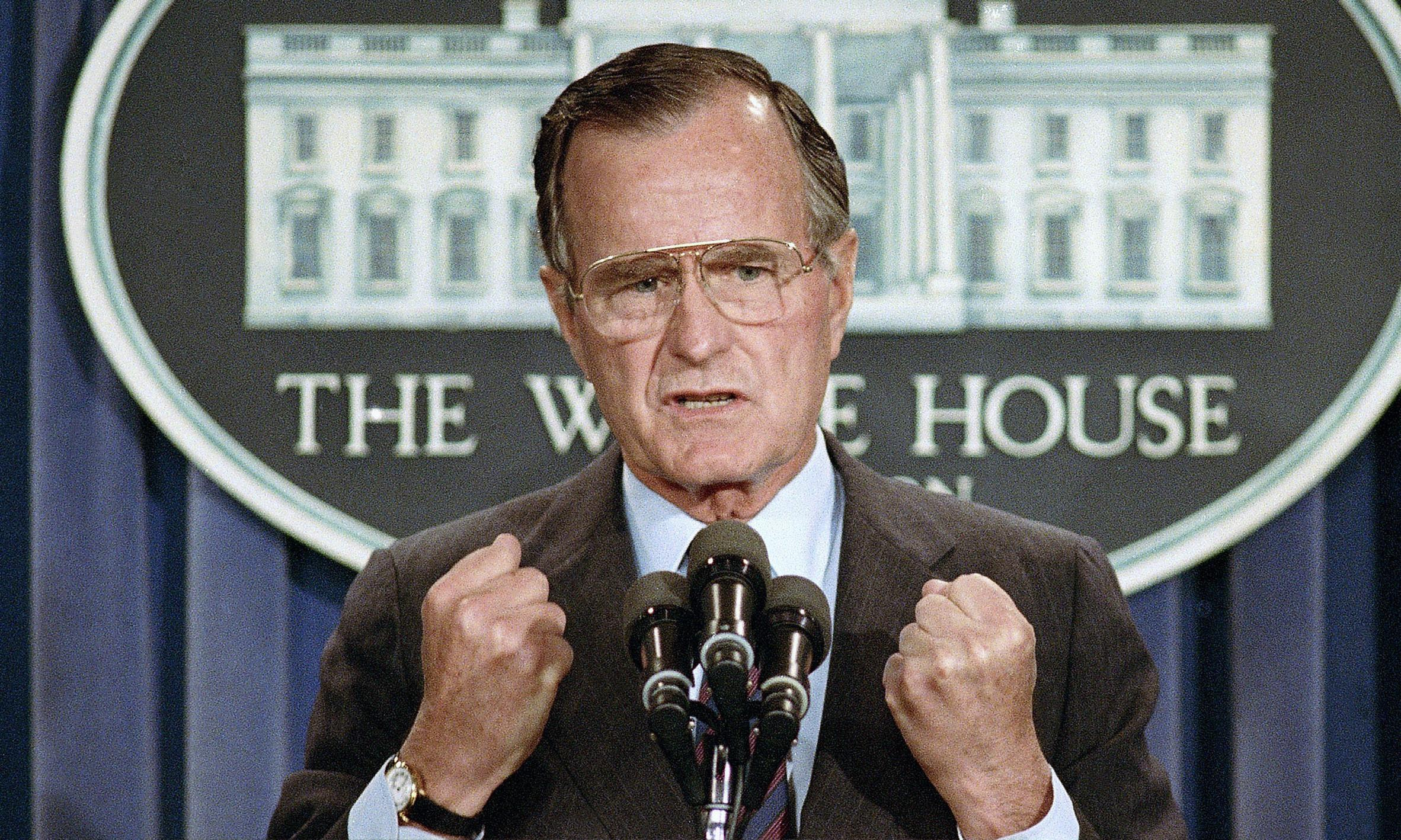 George HW Bush thought the world belonged to his family. How wrong he was