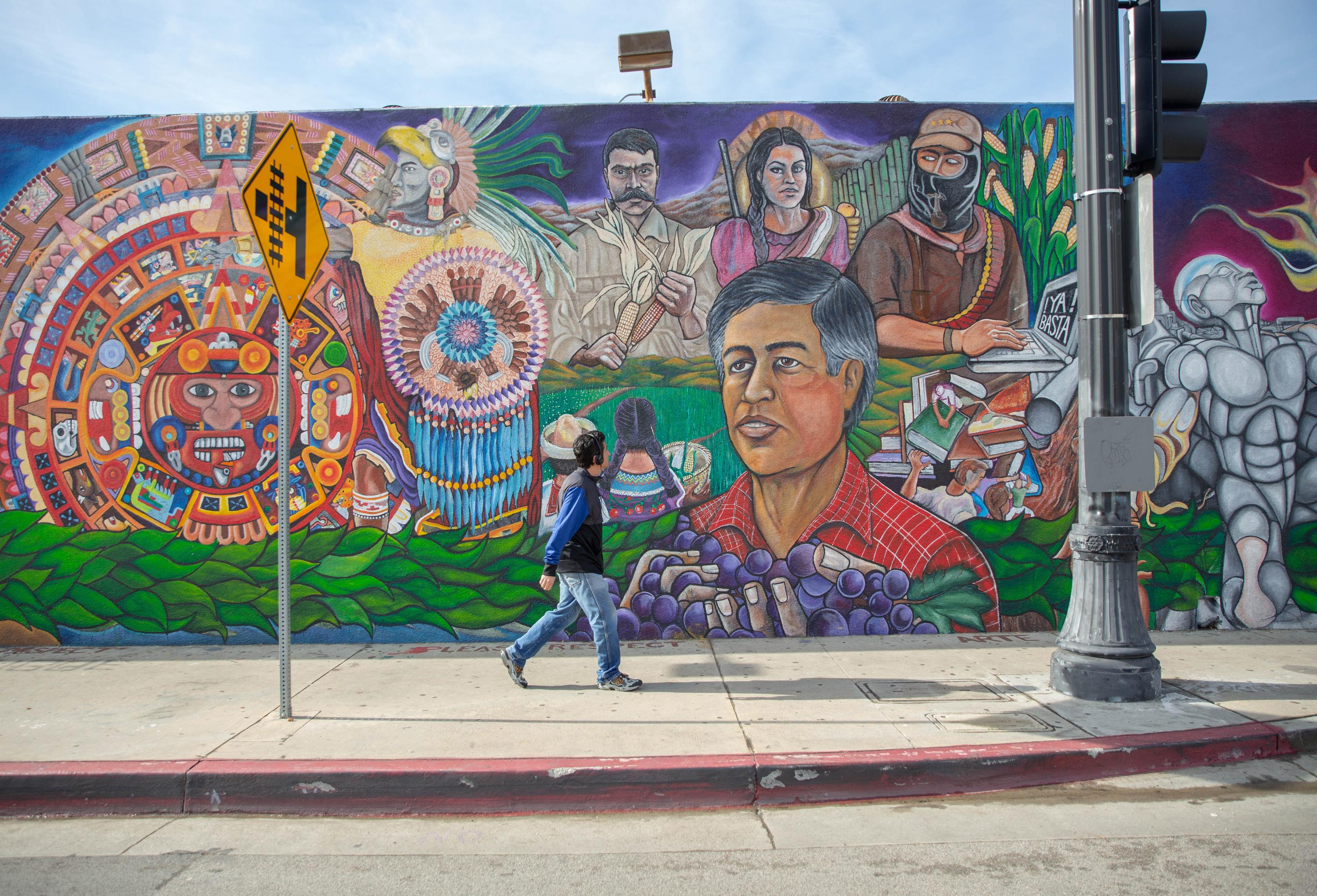 'Whitewashed': how gentrification continues to erase LA's bold murals