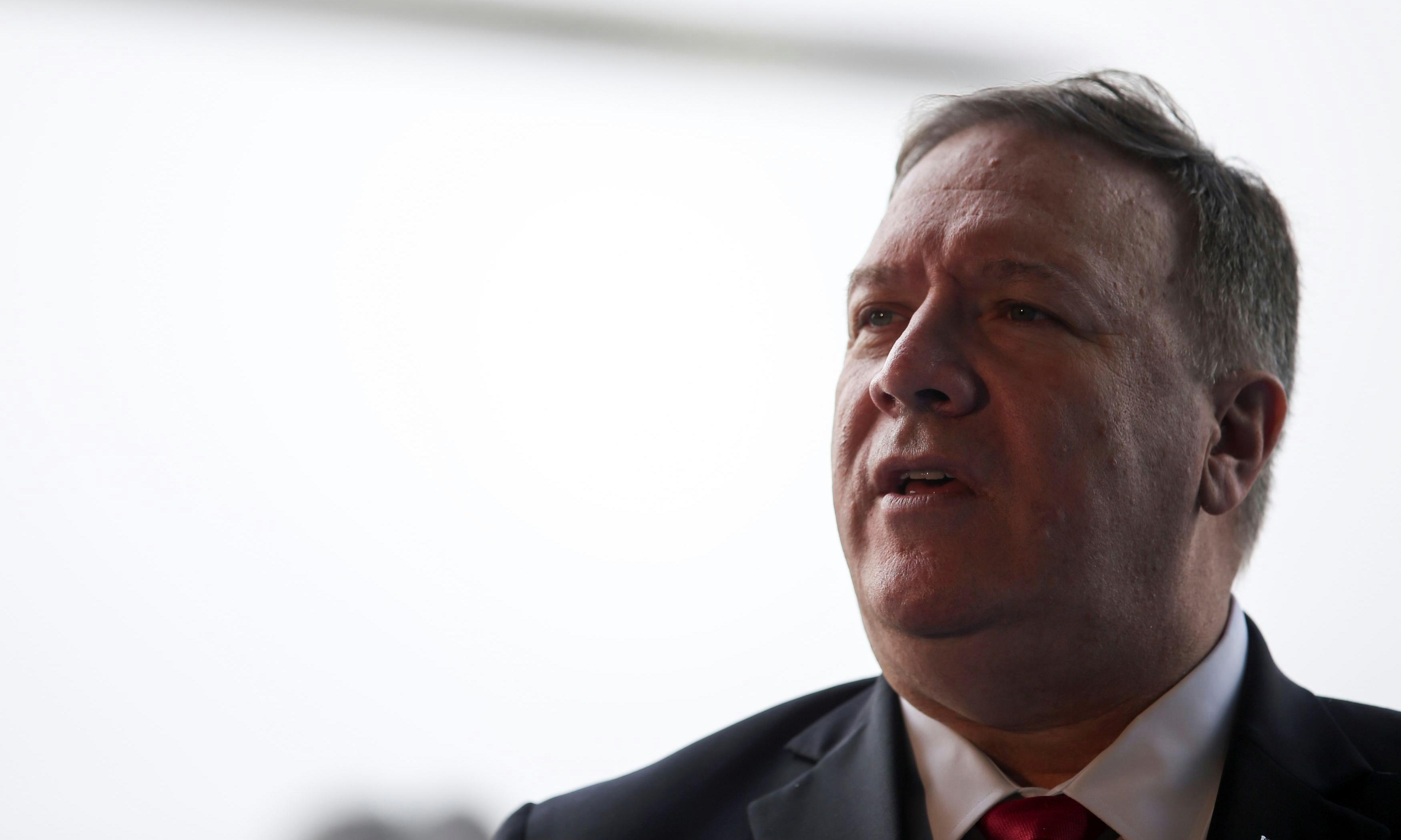 NPR host says Pompeo shouted 'F-word' tirade when she asked about Ukraine