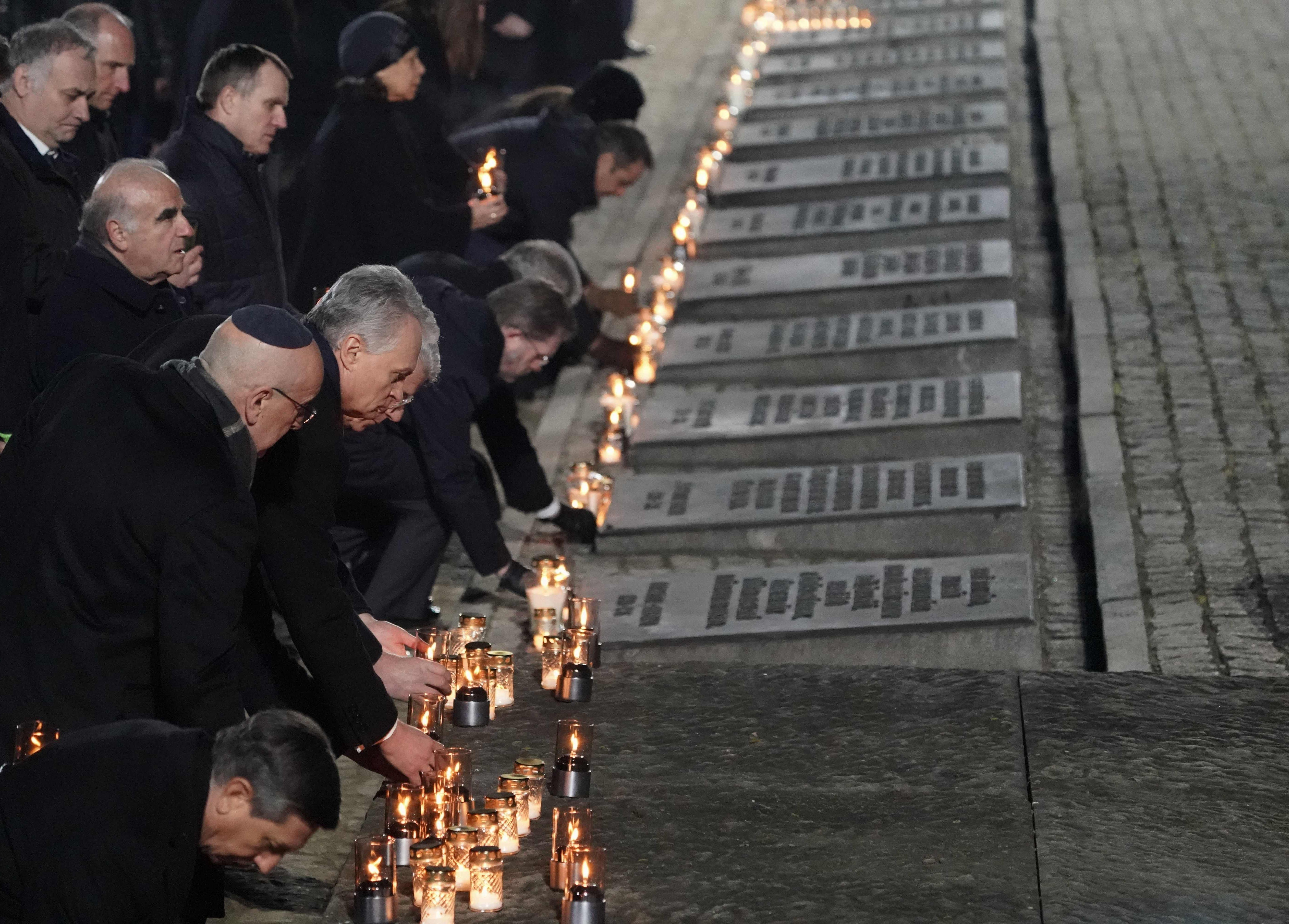 'Do not be indifferent': Auschwitz survivors call for world to stay vigilant