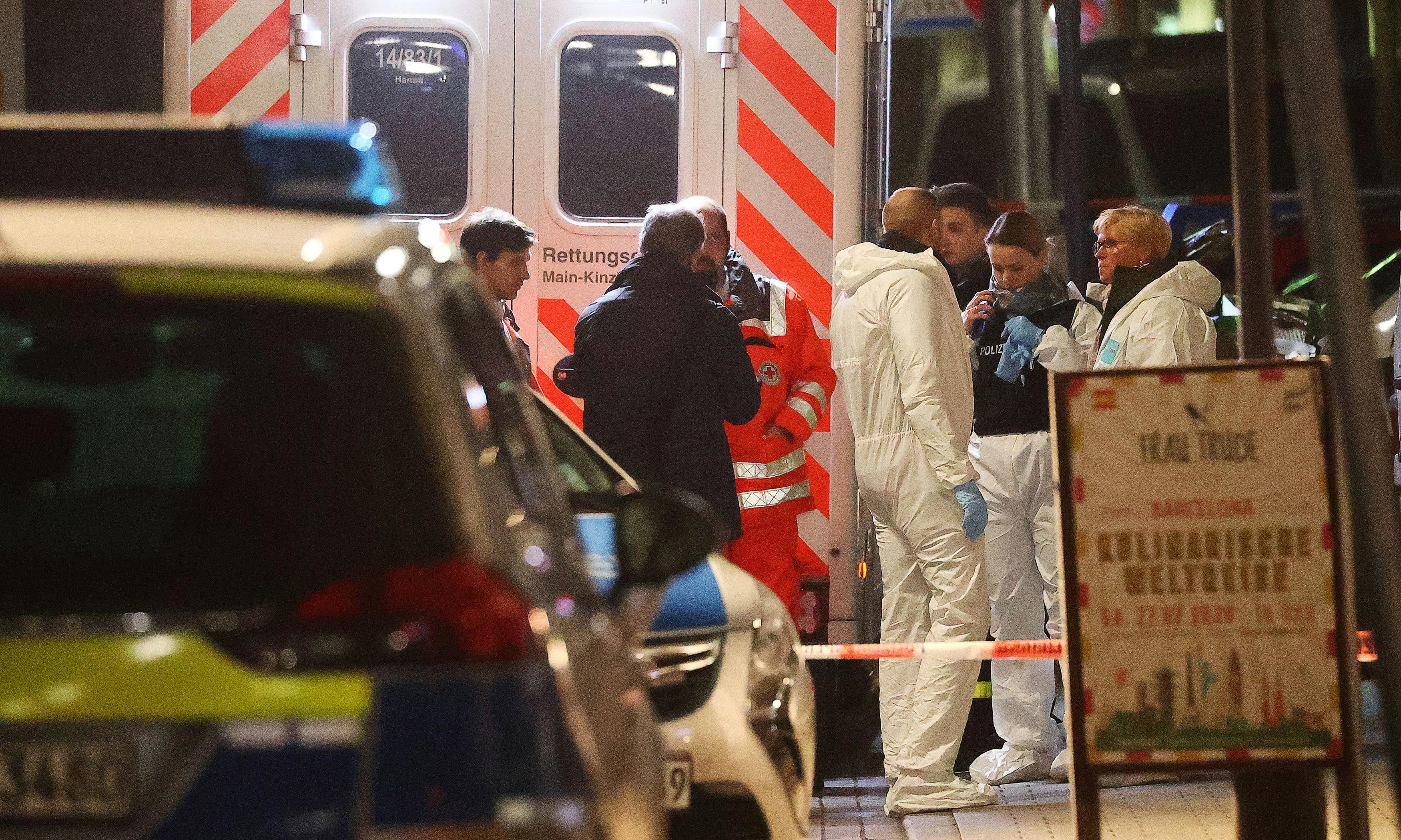 Hanau shooting: 11 dead after attacks on shisha bars in German town