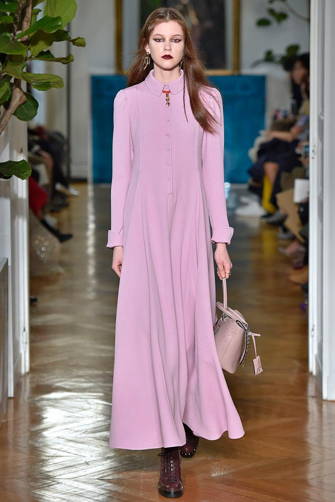 Valentino's dusty-lavender-pink.