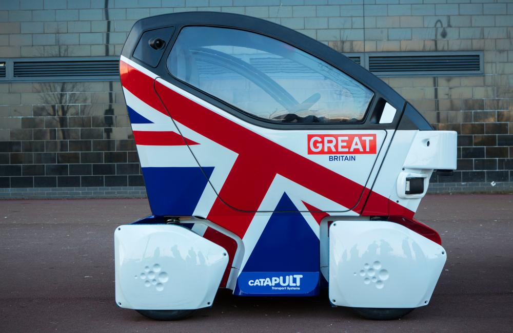 The Lutz Pathfinder self drive car by Catapult