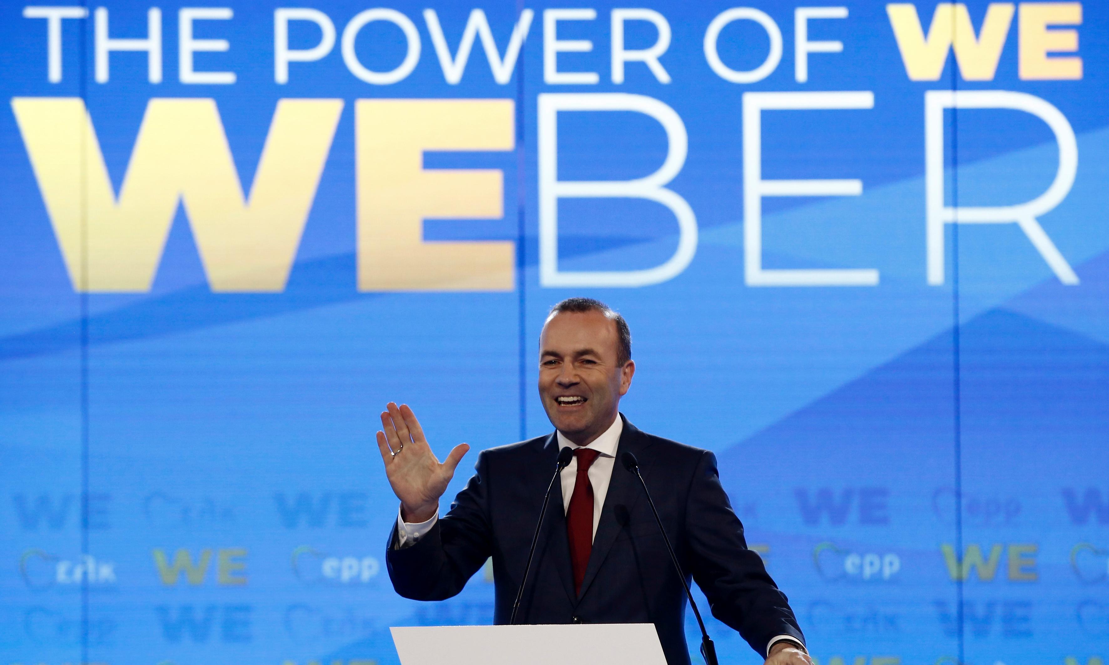 Greek PM's criticism takes shine off Weber's push for EU's top job